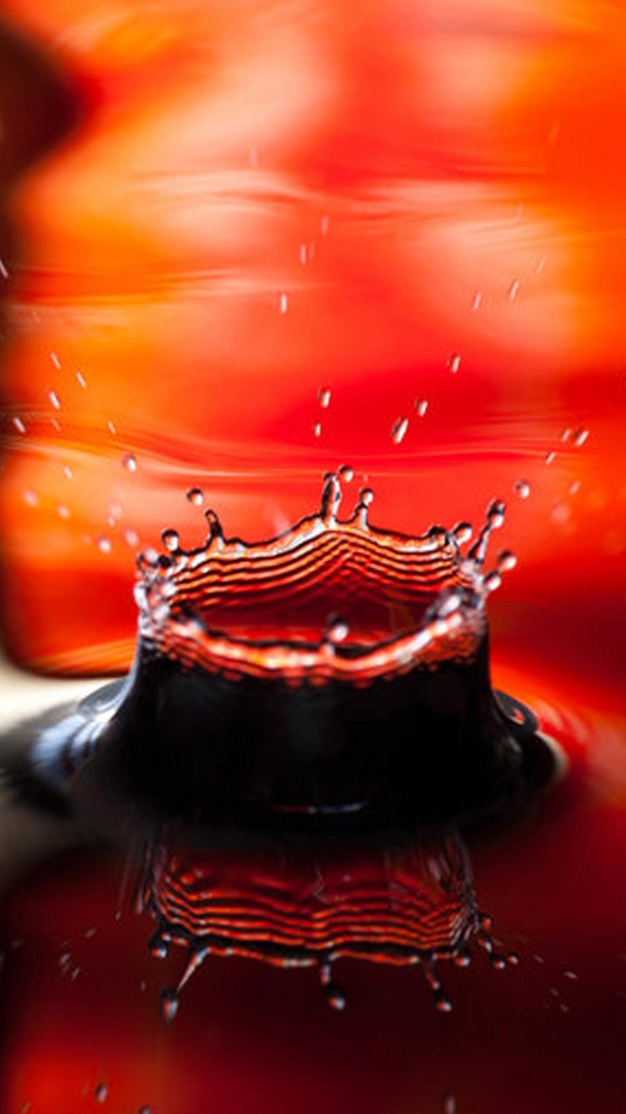 Liquid 3 3Wallpapers iPhone Parallax Liquid : 3