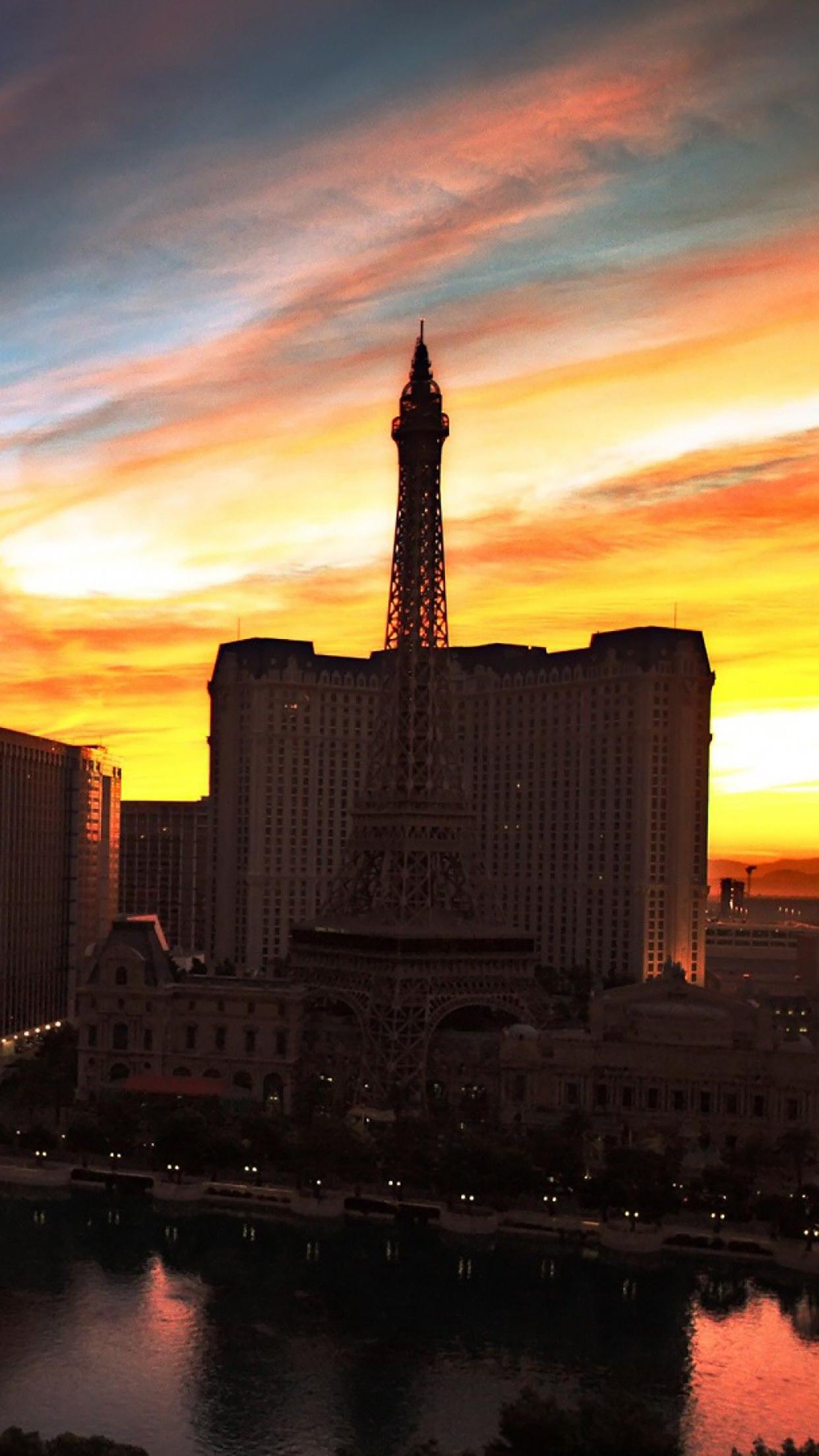 Coucher du Soleil : Las Vegas