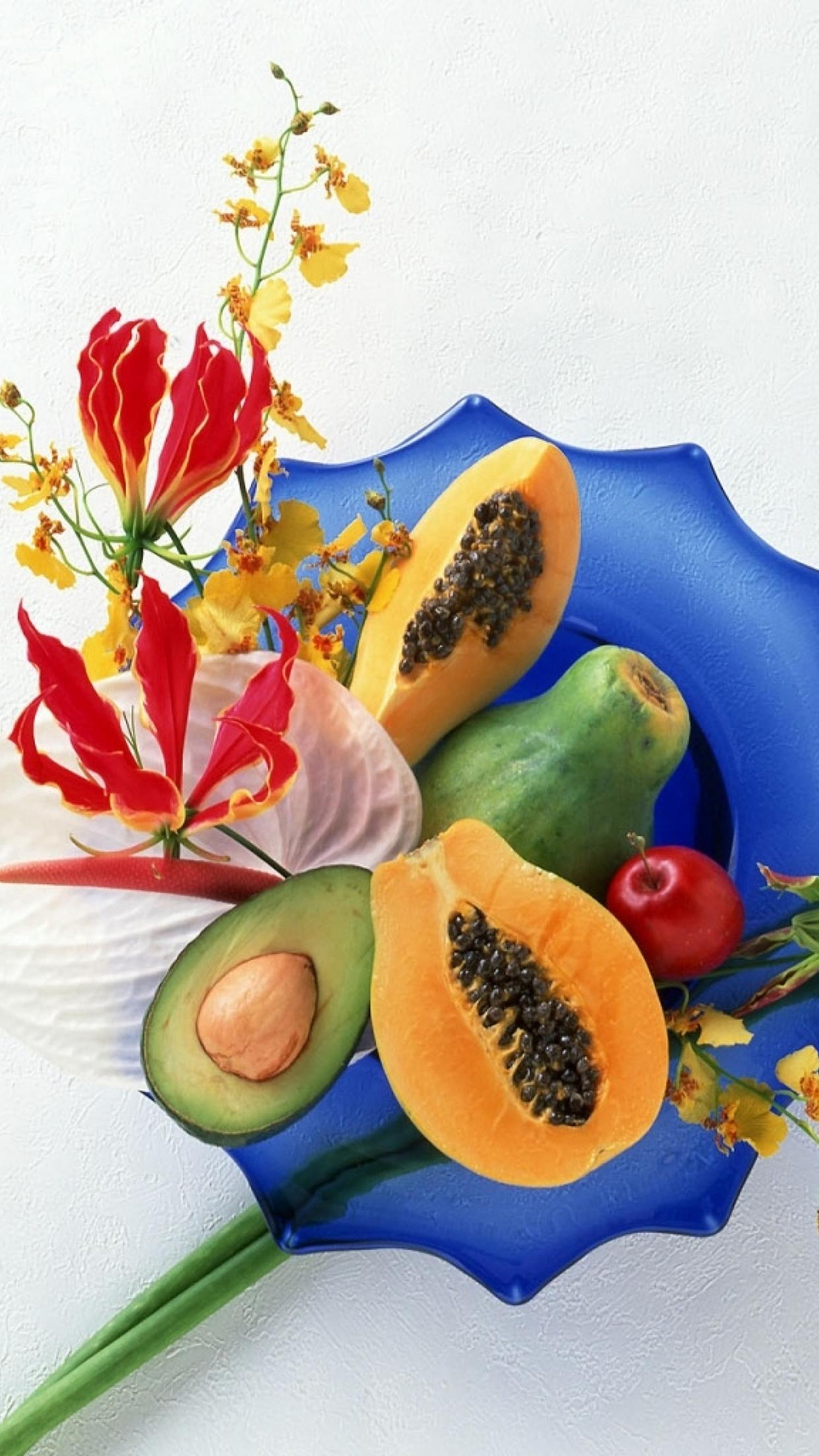 Fruits Dishes Fruits 3Wallpapers iPhone Parallax 3Wallpapers : notre sélection de fonds décran du 03/07/2017