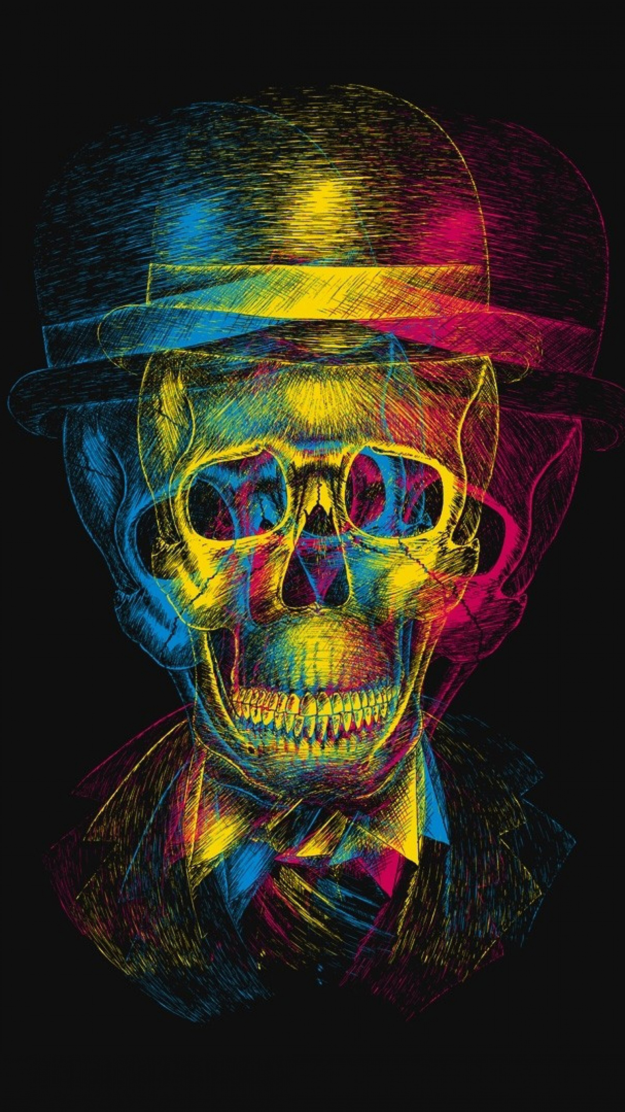 Skull 3 3Wallpapers iPhone Parallax 3Wallpapers : notre sélection de fonds décran du 13/07/2017
