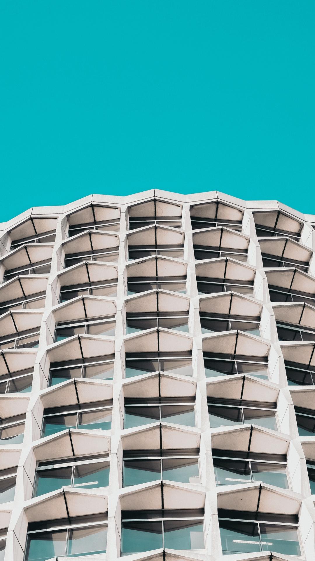 iphone wallpaper building facade architecture sky design 3Wallpapers : notre sélection de fonds décran iPhone du 20/08/2017