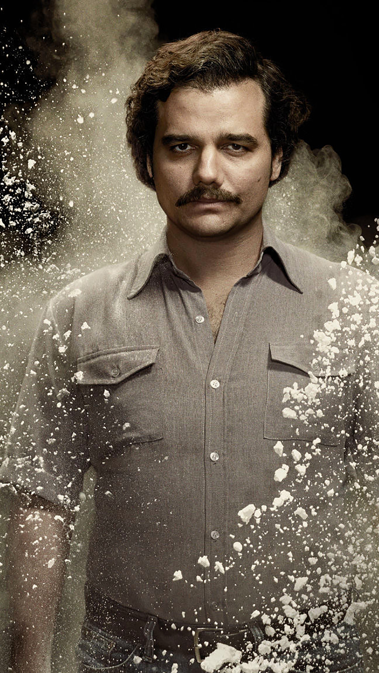 Narcos Pablo Escobar 3Wallpapers iPhone Parallax.jpg Narcos : Pablo Escobar