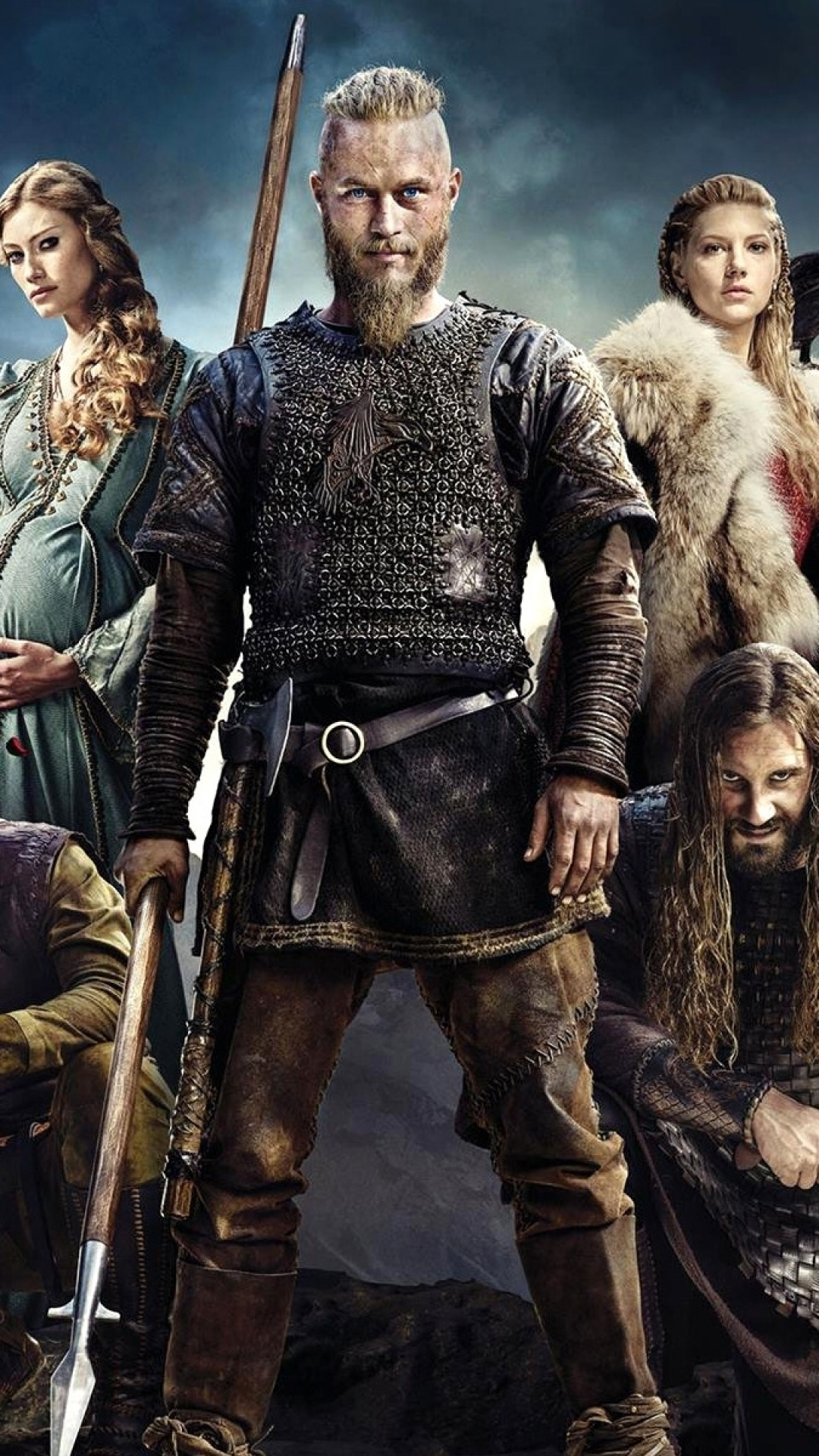 iphone wallpaper vikings travis fimmel clive standen gustaf skarsgard kathryn winnick 3Wallpapers : notre sélection de fonds décran du 01/09/2017