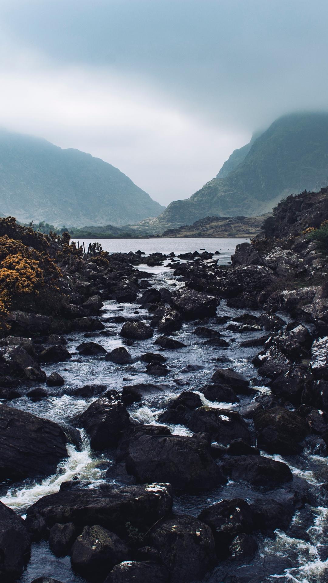 river stones stream 117120 1080x1920 3Wallpapers : notre sélection de fonds décran du 14/09/2017