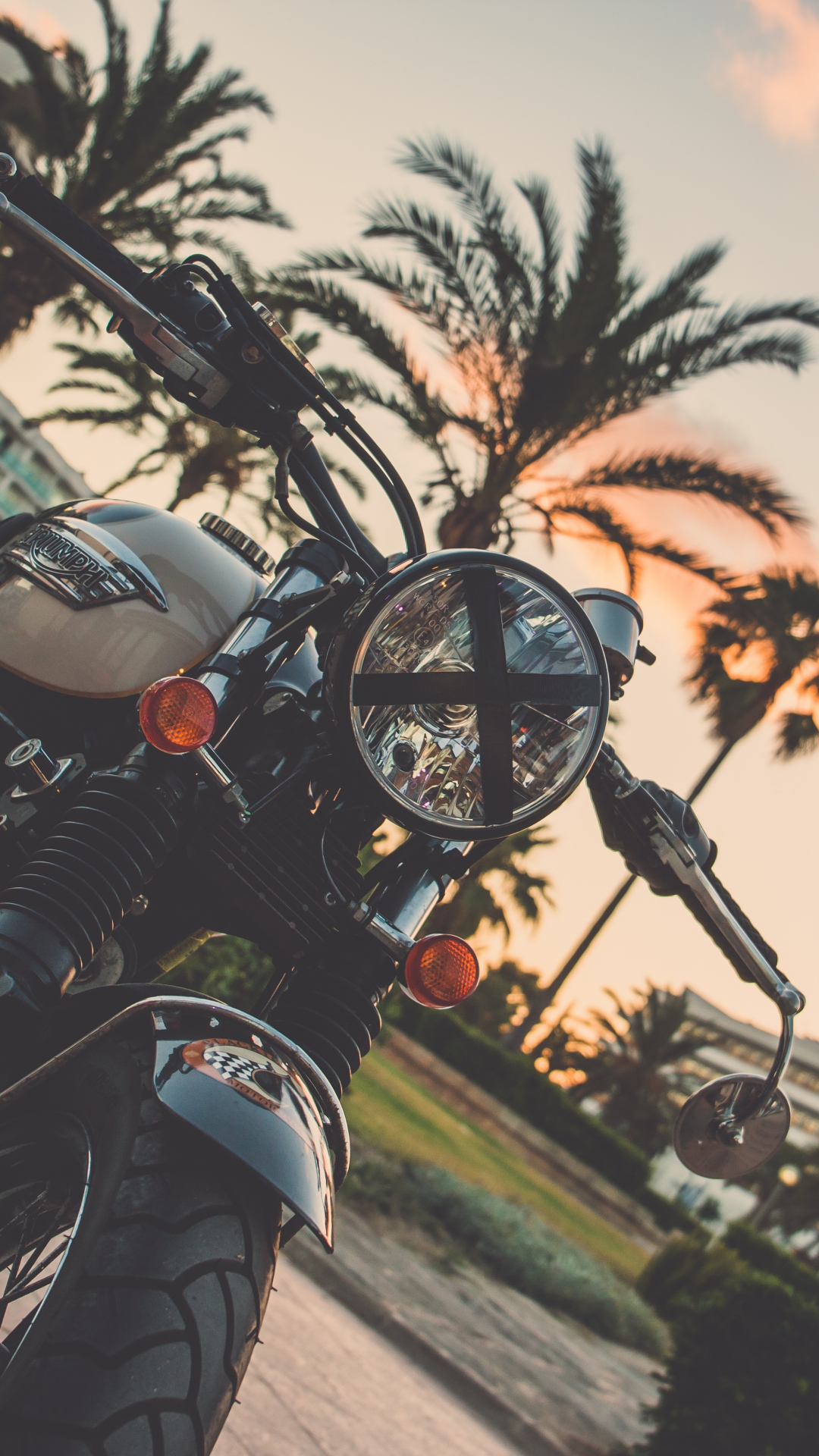 iphone wallpaper motorcycle bike palm tree 3Wallpapers : notre sélection de fonds d'écran du 24/11/2017