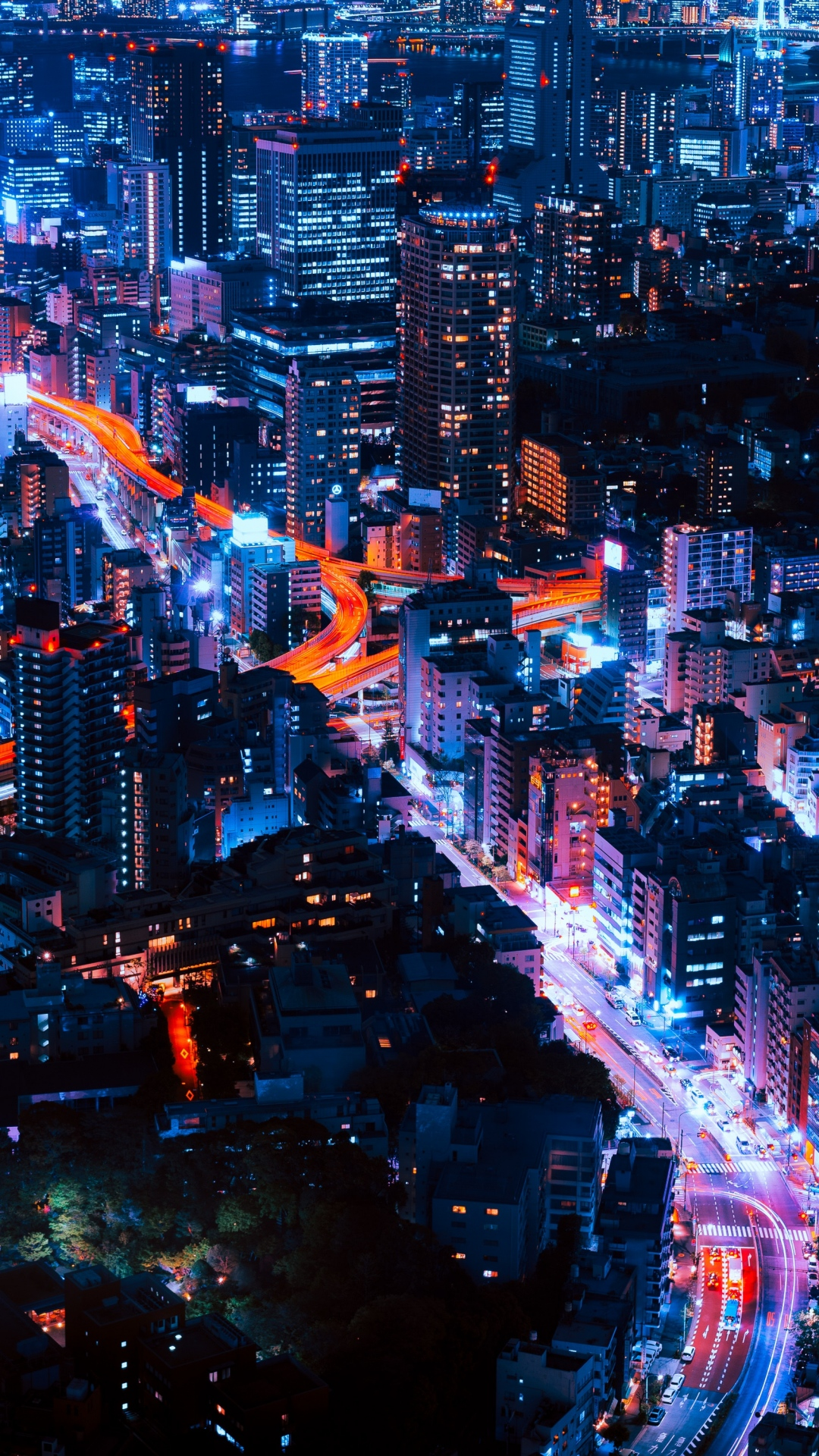 Night City Wallpaper For IPhone 11, Pro Max, X, 8, 7, 6