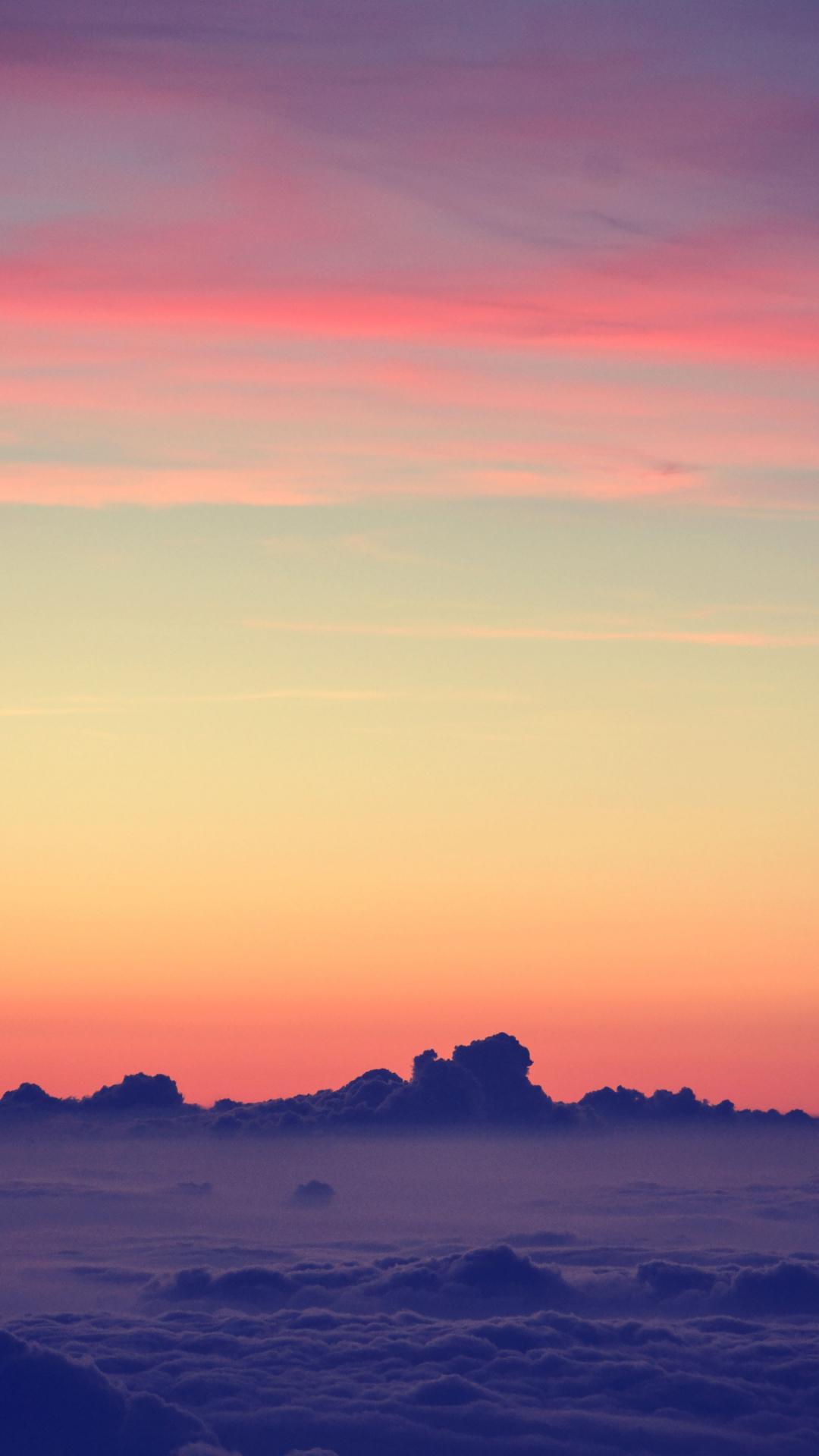 iPhone Wallpaper Sky sunset 3Wallpapers : notre sélection de fonds d'écran du 22/01/2018