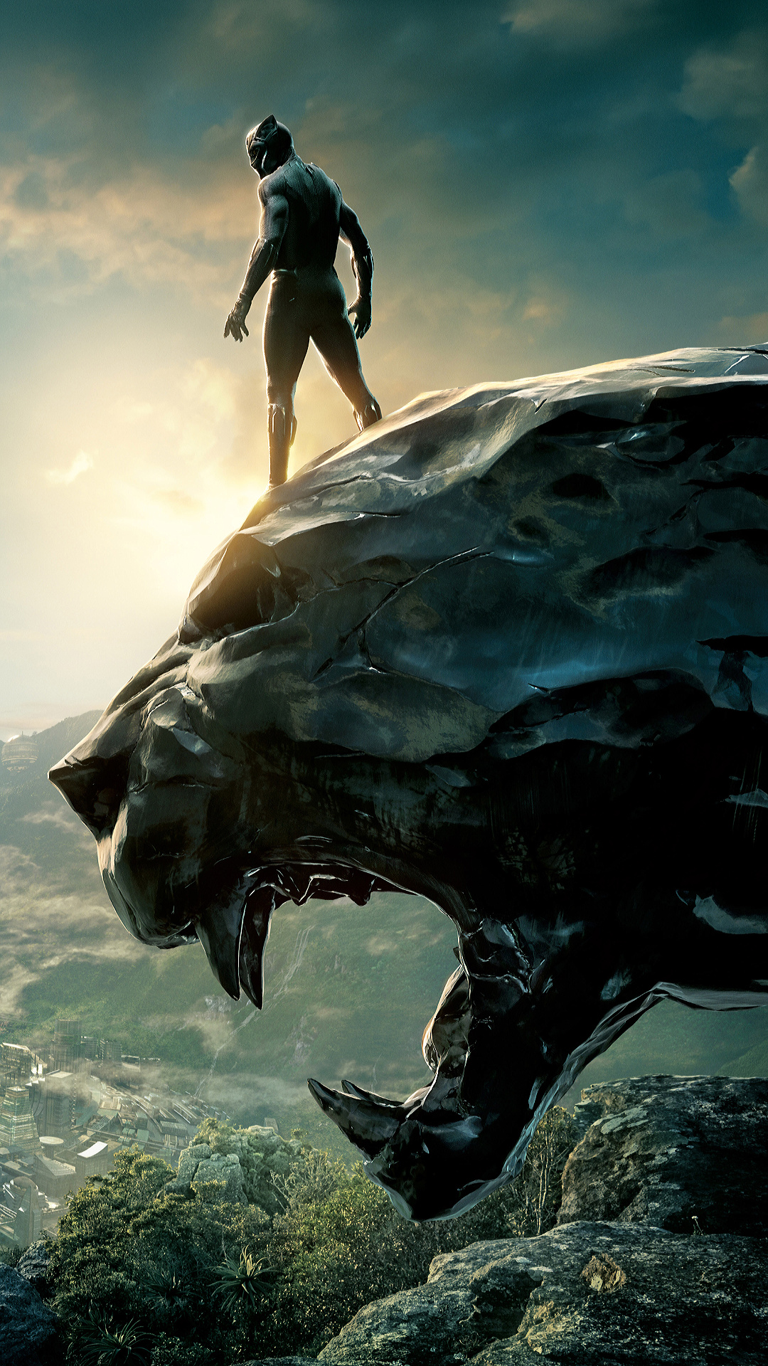 Black Panther Iphone X Wallpaper Hd