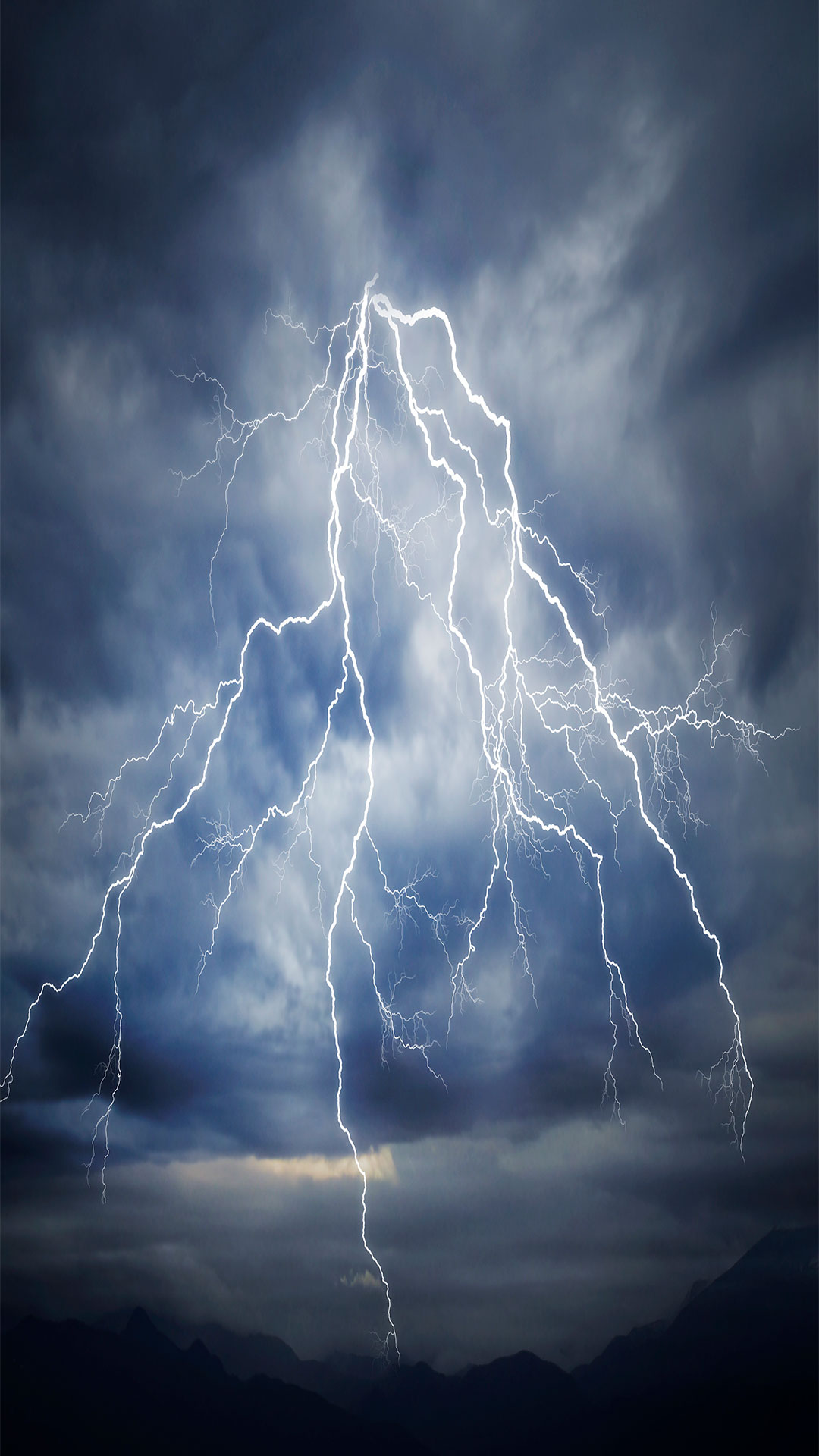 iPhone wallpaper lightning sky 3Wallpapers : notre sélection de fonds d'écran du 28/02/2018