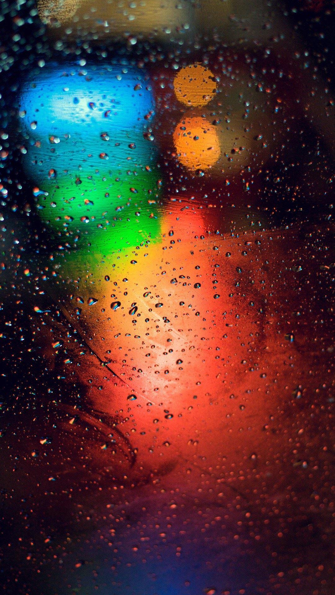 iPhone wallpaper rain glass 3Wallpapers : notre sélection de fonds d'écran du 20/02/2018