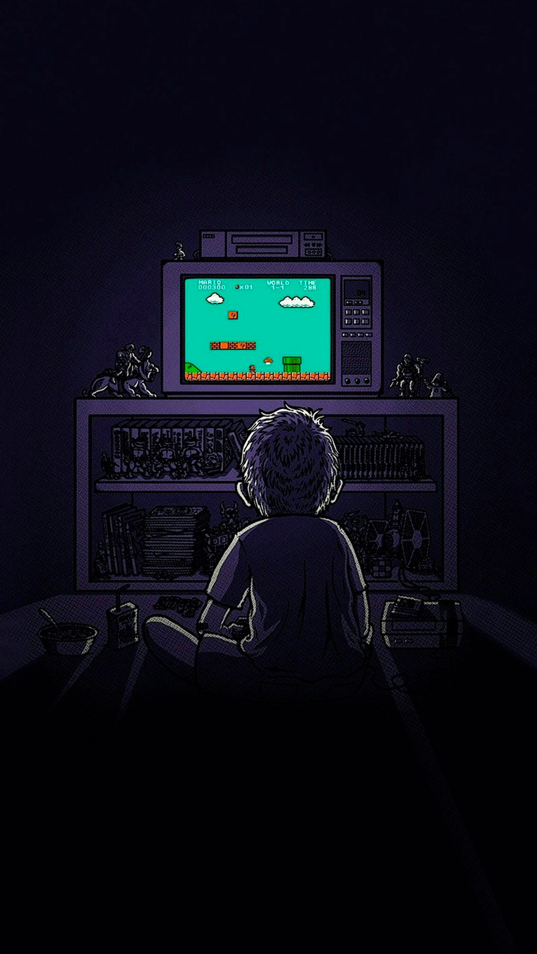 Retro games Wallpaper for iPhone X, 8, 7, 6 - Free ...