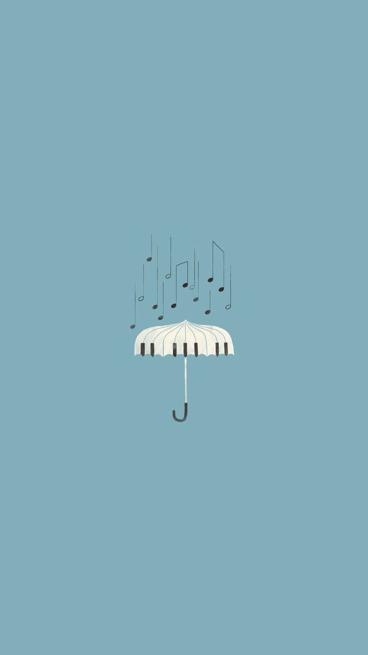iPhone wallpapers music umbrella Les 3Wallpapers iPhone du jour (14/02/2018)