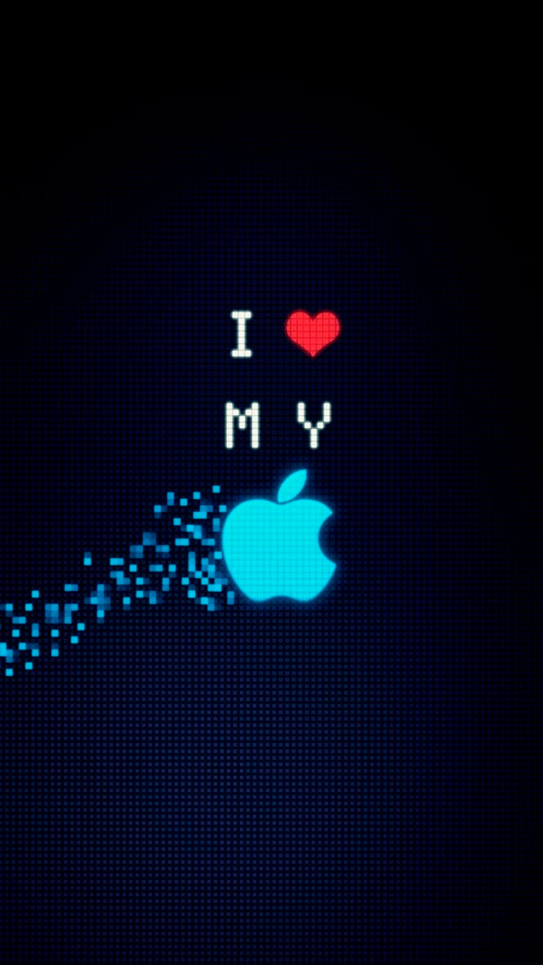 iPhone wallpaper apple logo heart Apple Logo
