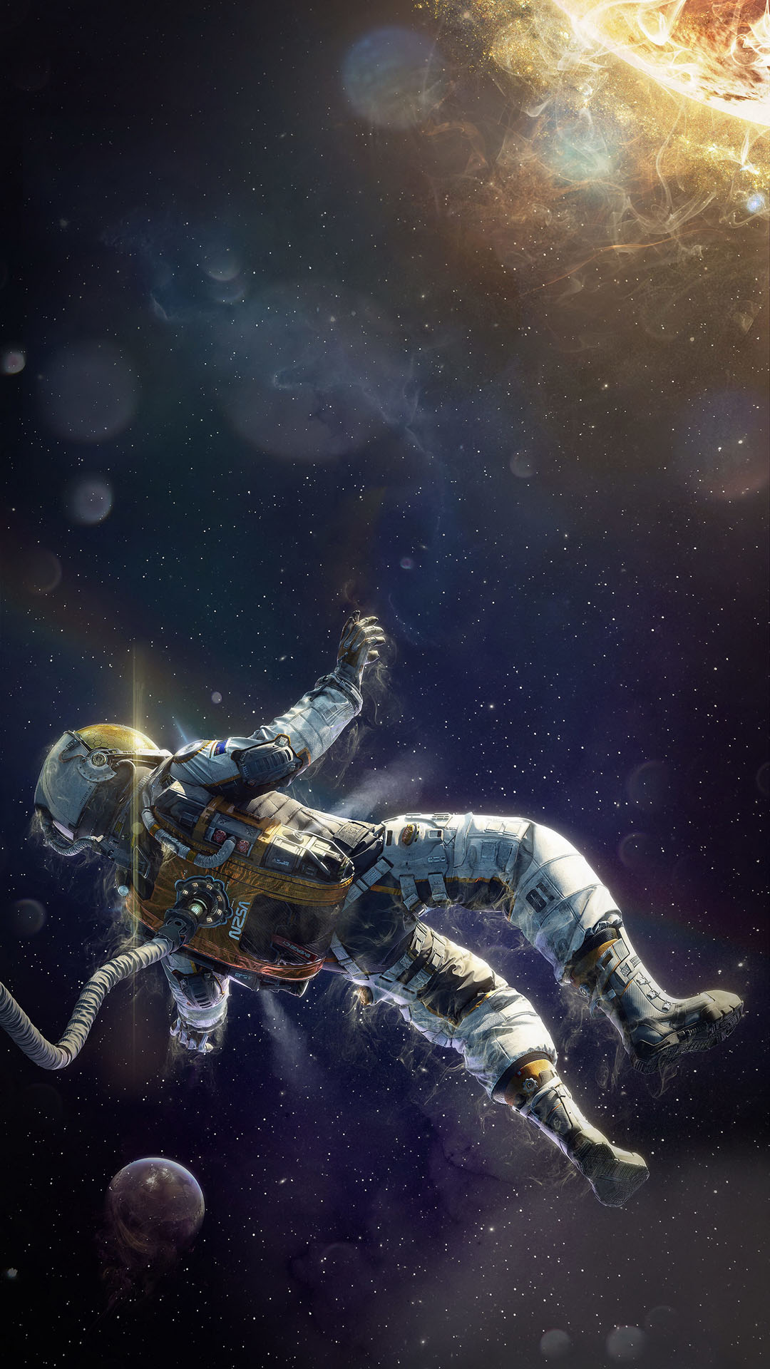 iPhone wallpaper astronaut1 Astronaut