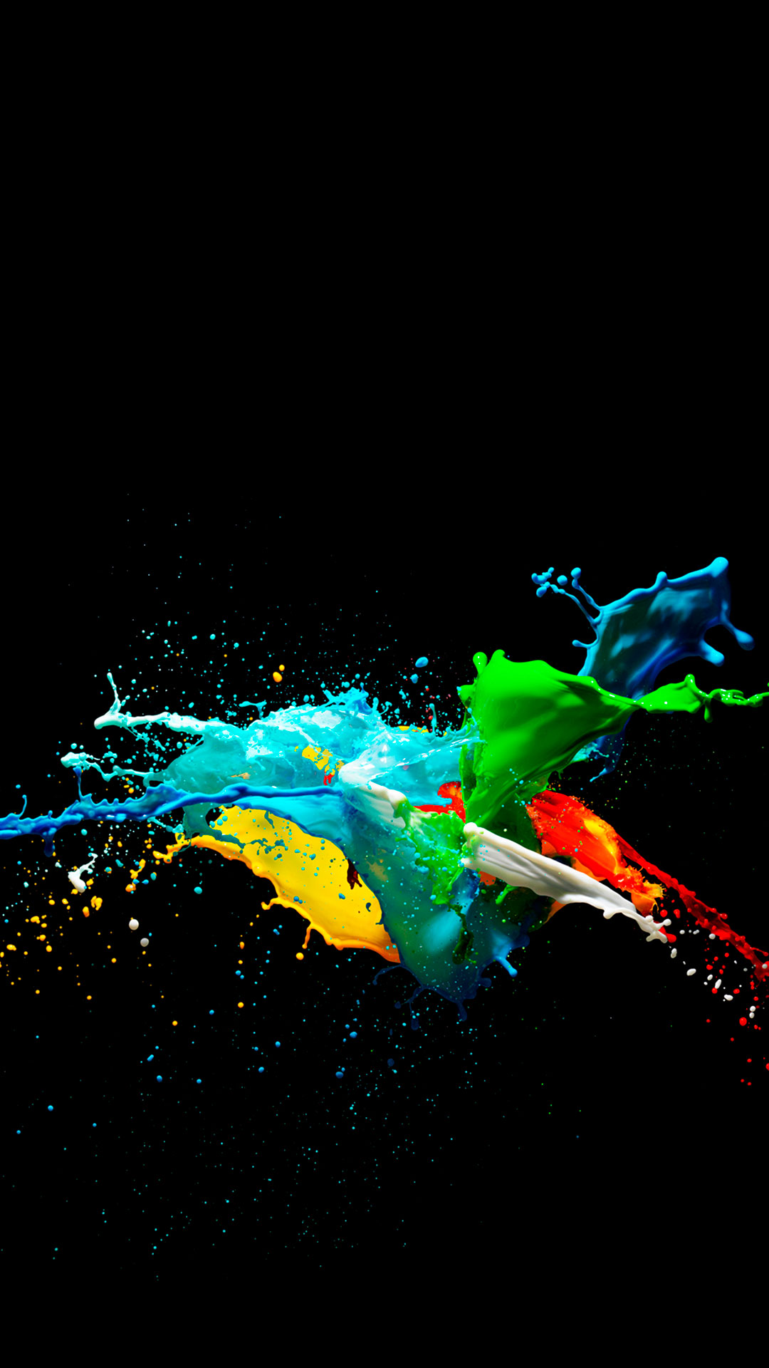 iPhone wallpaper color explosion1 Colors