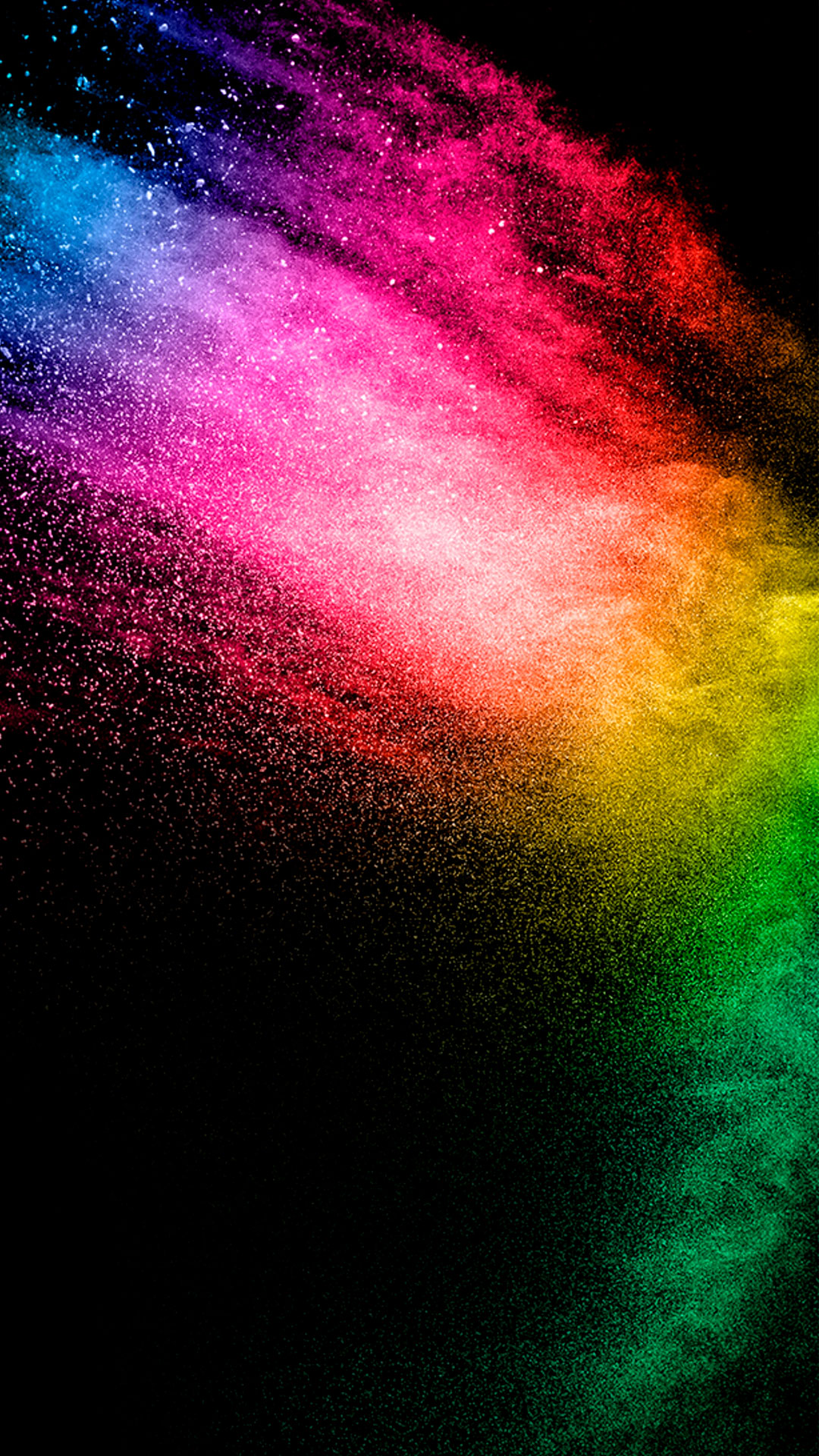 iPhone wallpaper color explosion3 Colors