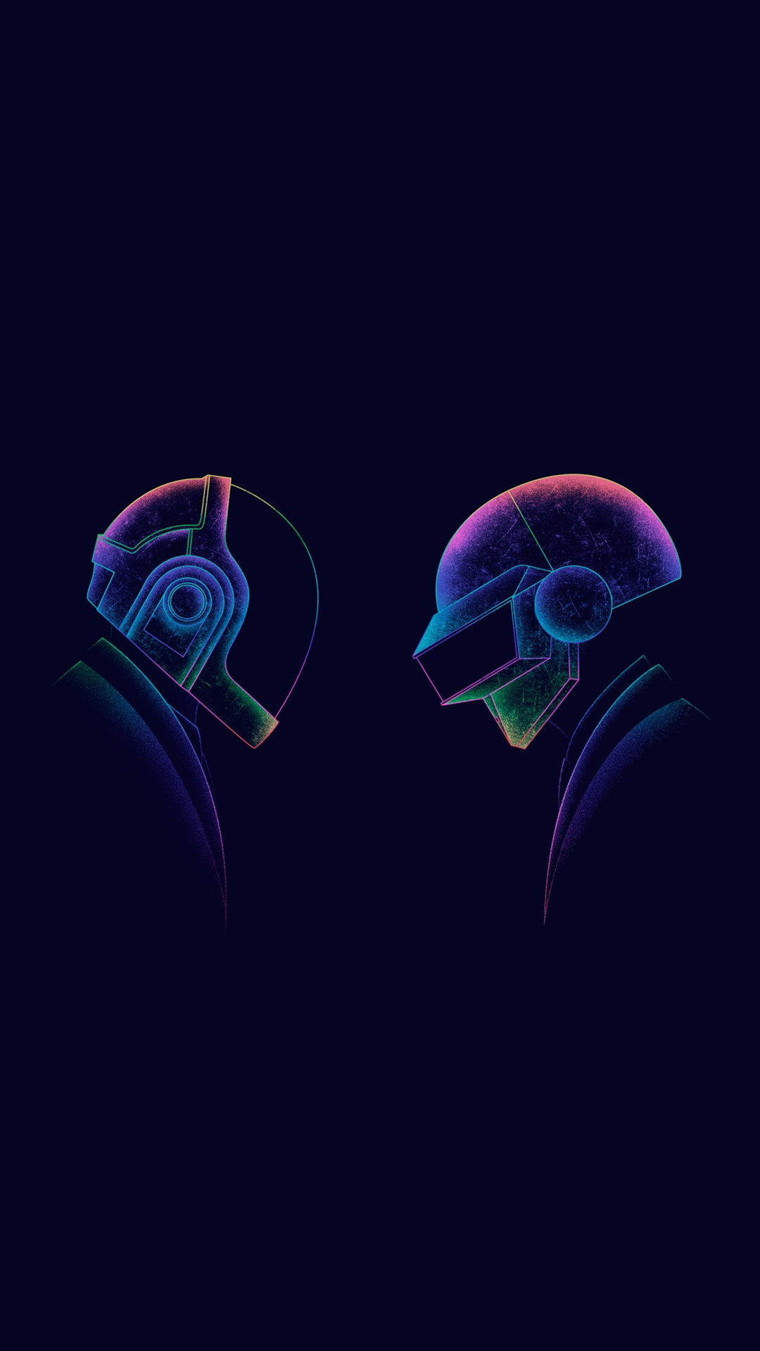 iPhone wallpaper daft punk flat Les 3Wallpapers iPhone du jour (19/03/2018)