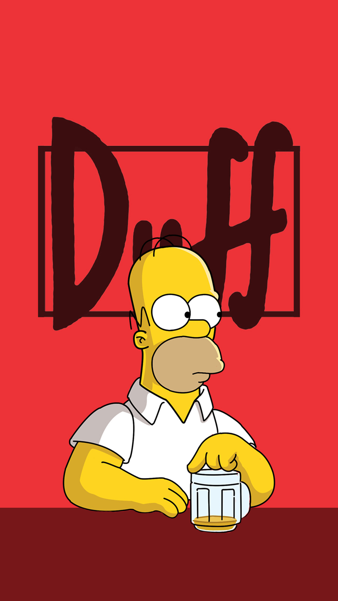iPhone wallpaper homer duff Homer