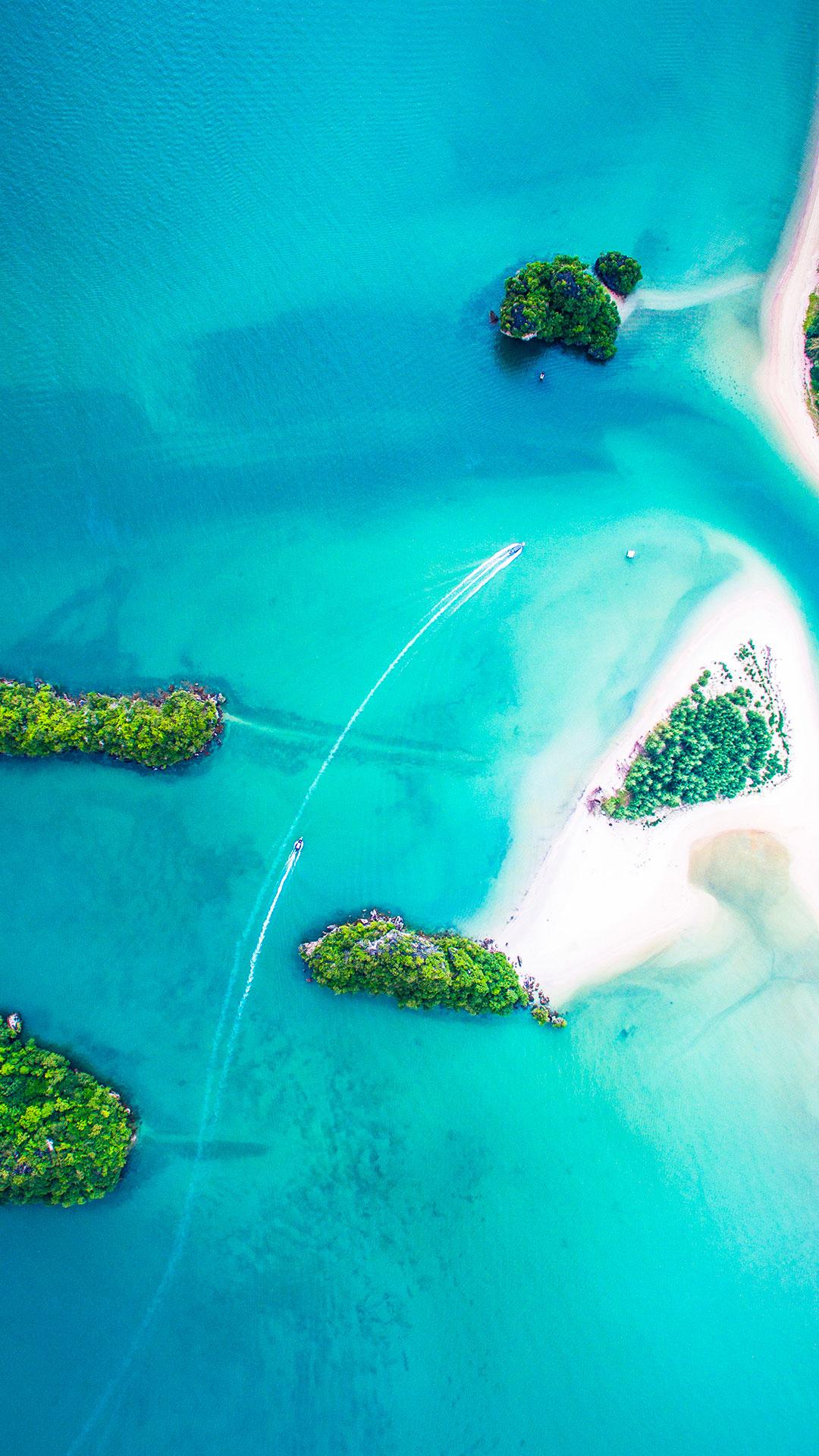 iPhone wallpaper island paradise Island