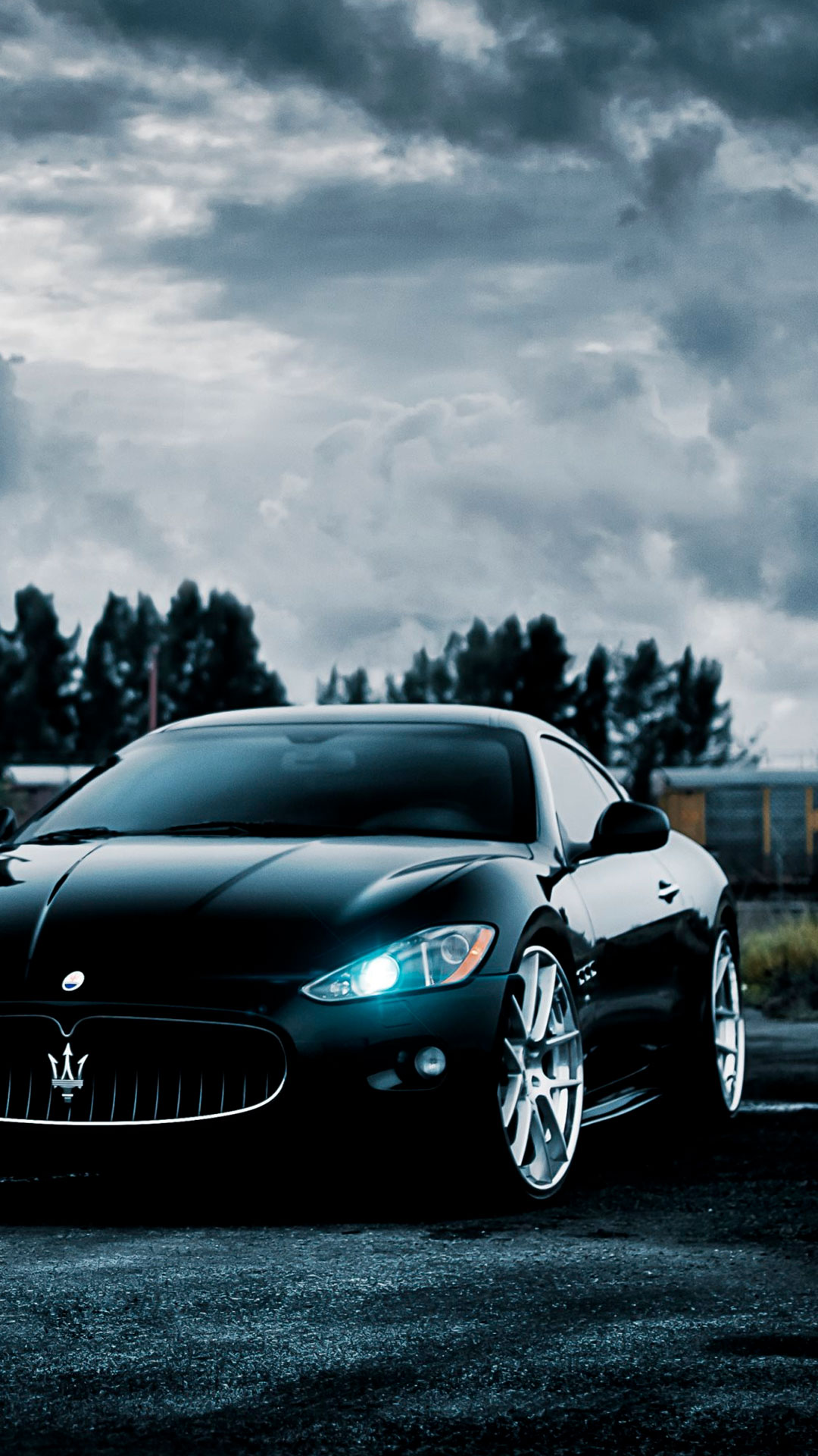 iPhone wallpaper maserati black Maserati