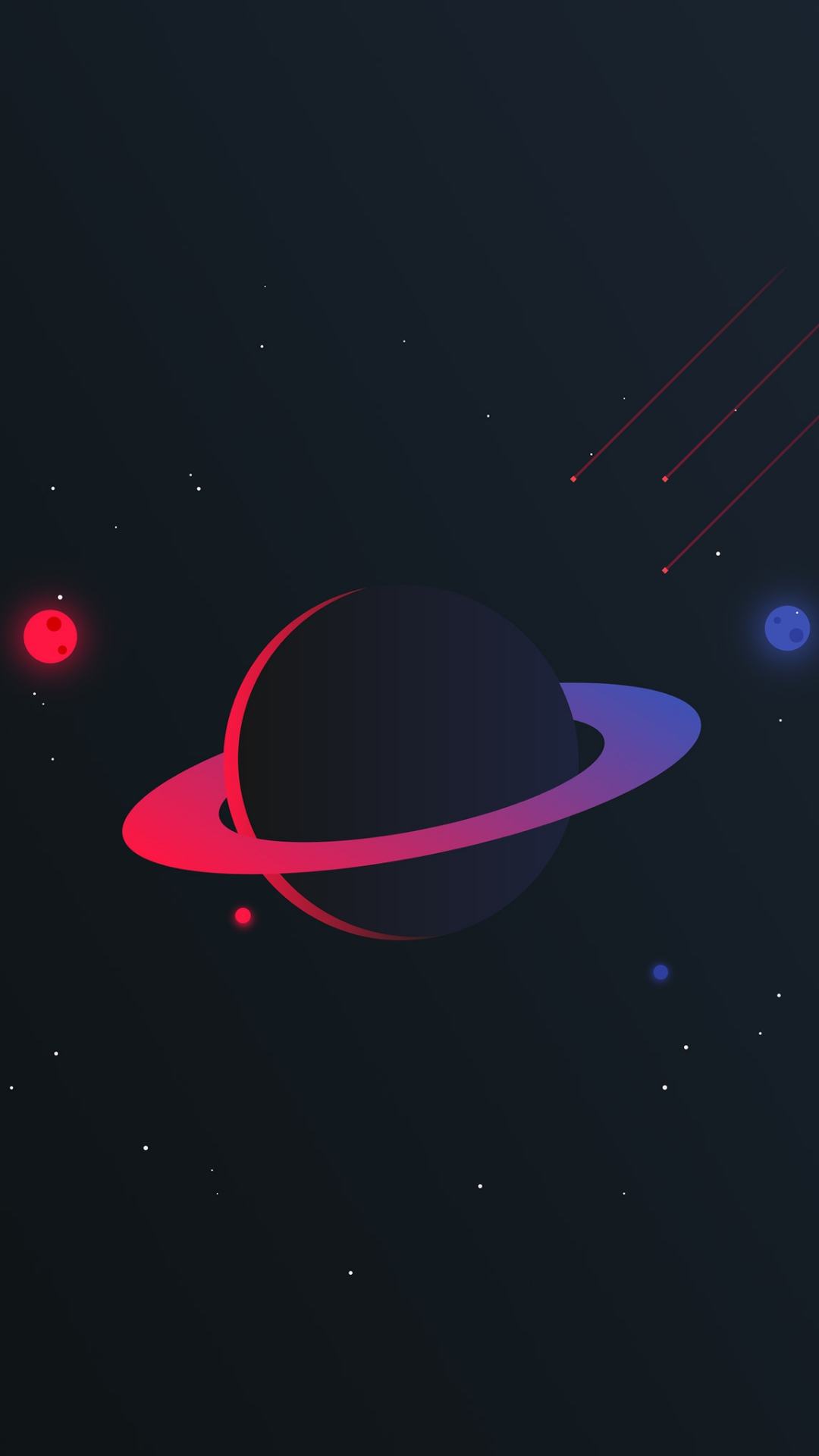 iPhone wallpaper planets3 Les 3Wallpapers iPhone du jour (20/03/2018)