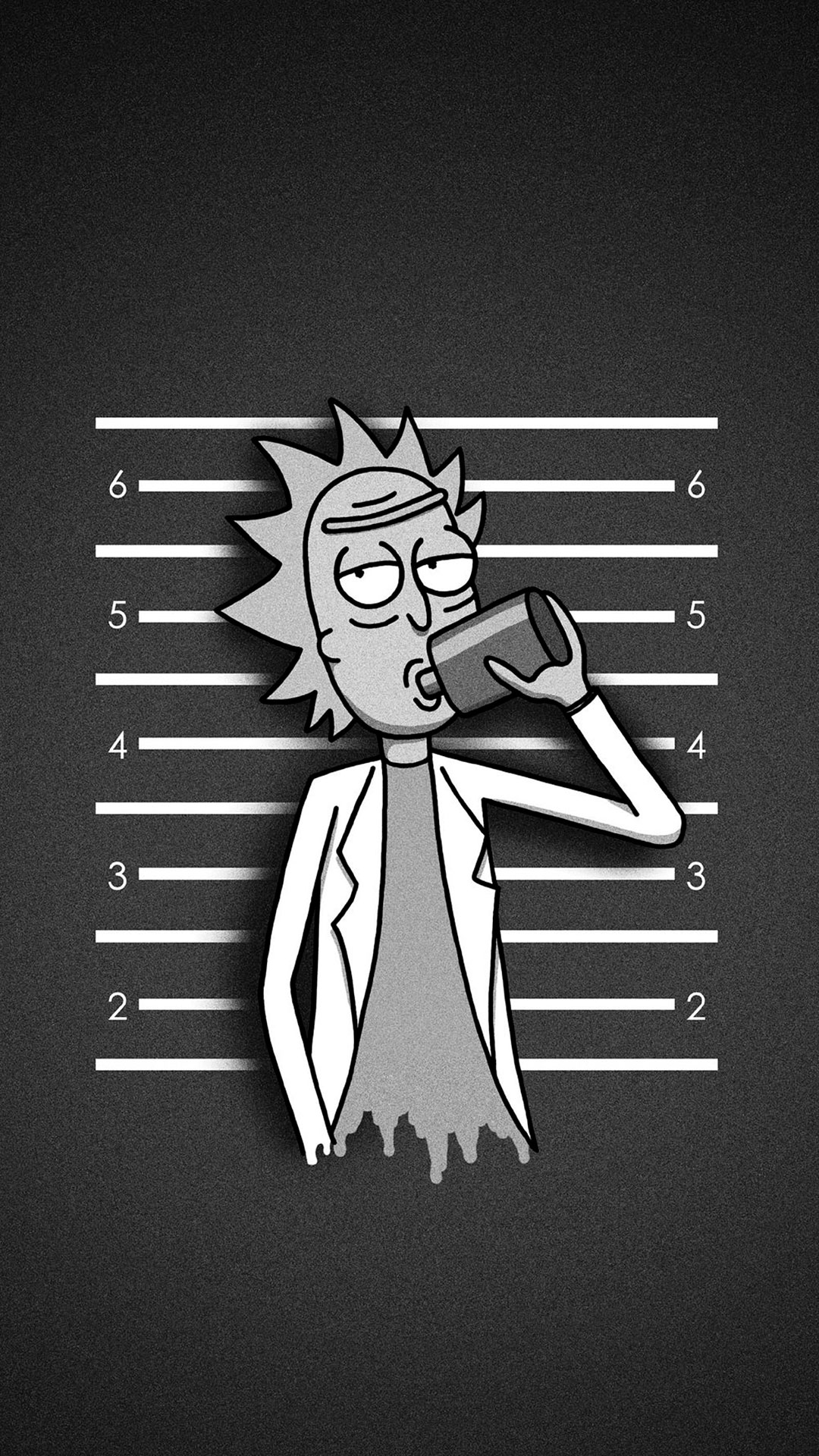 iPhone wallpaper rick and morty2 Les 3Wallpapers iPhone du jour (12/03/2018)