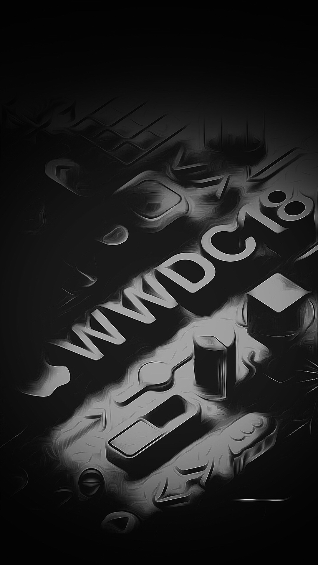 iPhone wallpaper wwdc18 black 3Wallpapers : notre sélection de fonds d'écran du 16/03/2018