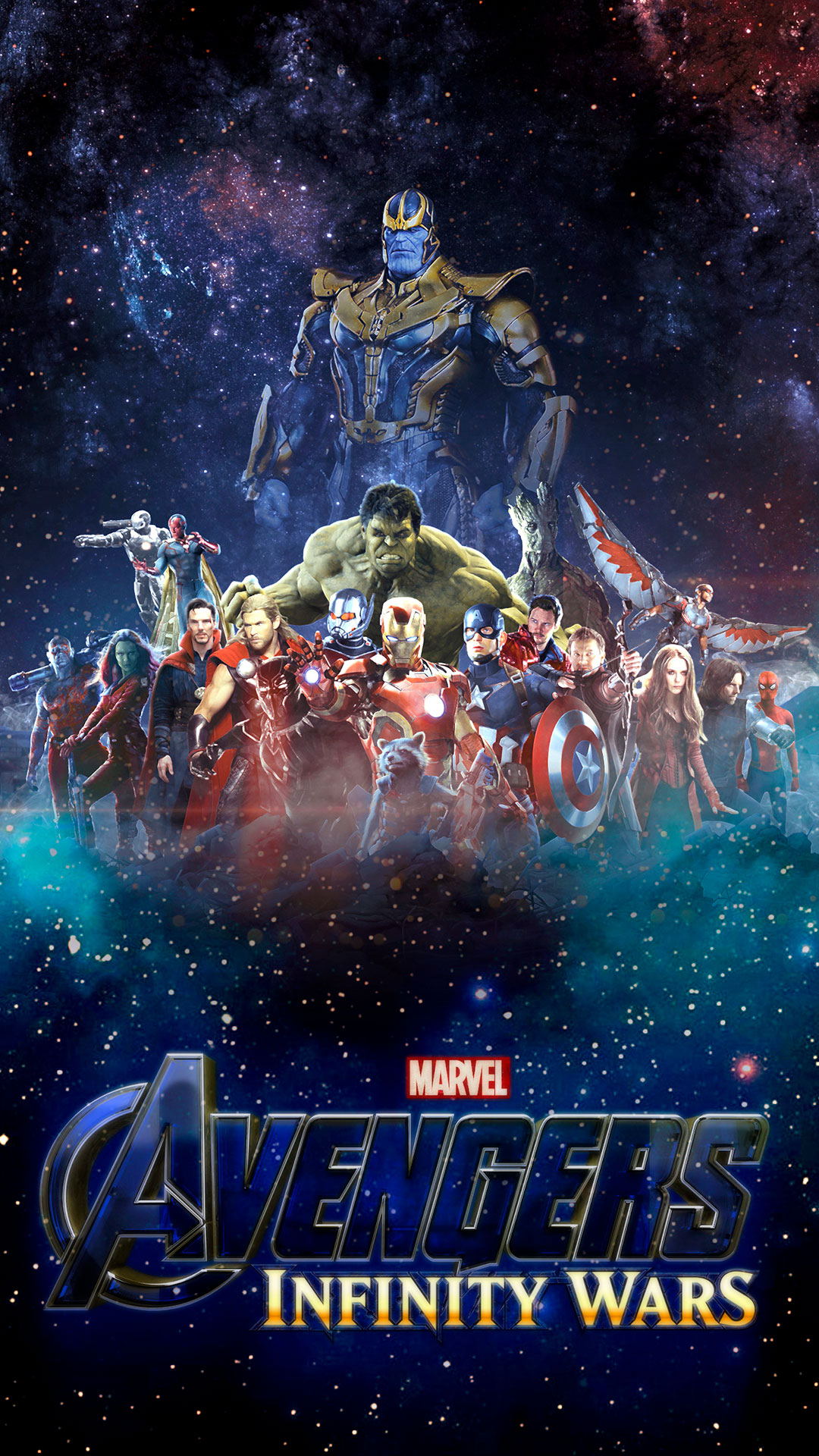 iPhone wallpaper avengers infinity war space Avengers: Infinity War