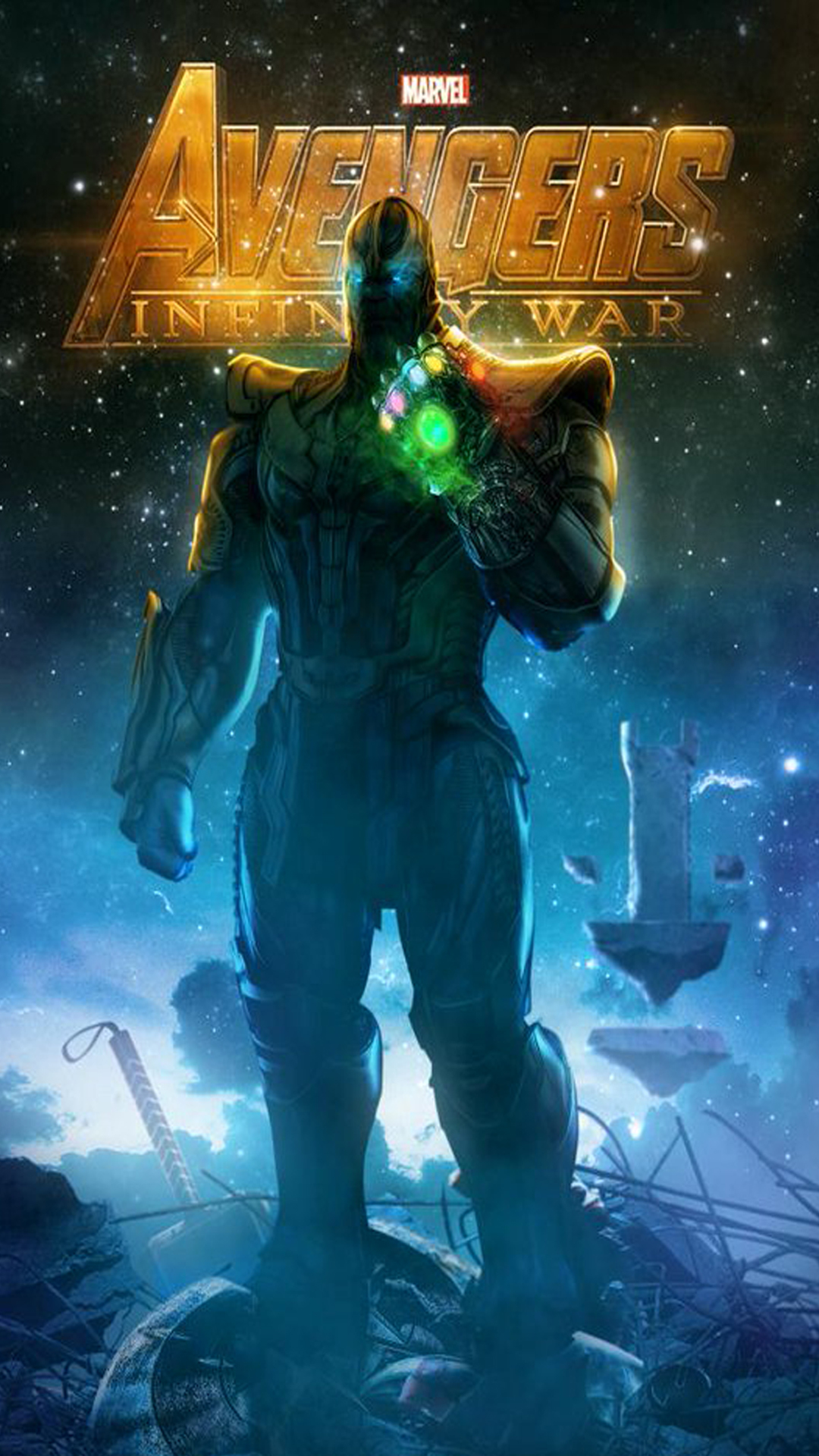 iPhone wallpaper avengers infinity war thanos Avengers: Infinity War