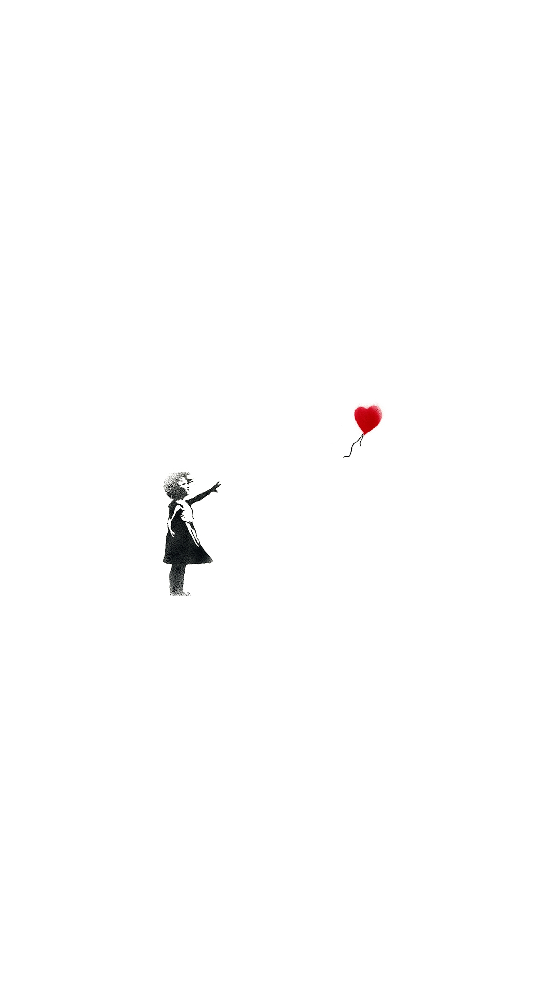 iPhone wallpaper banksy girl of hope 3Wallpapers : notre sélection de fonds d'écran du 10/04/2018