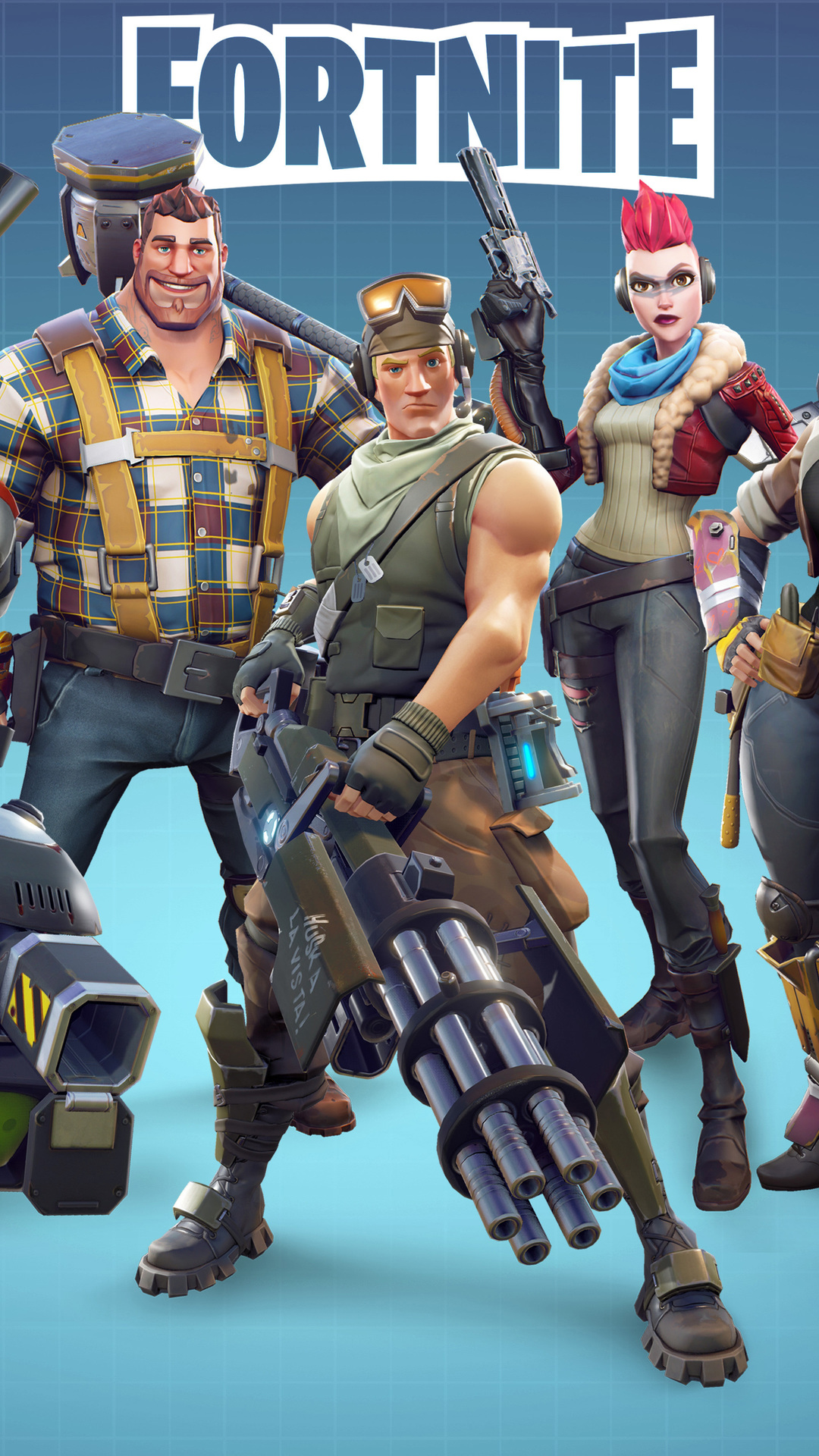 iPhone wallpaper fortnite1 Fortnite