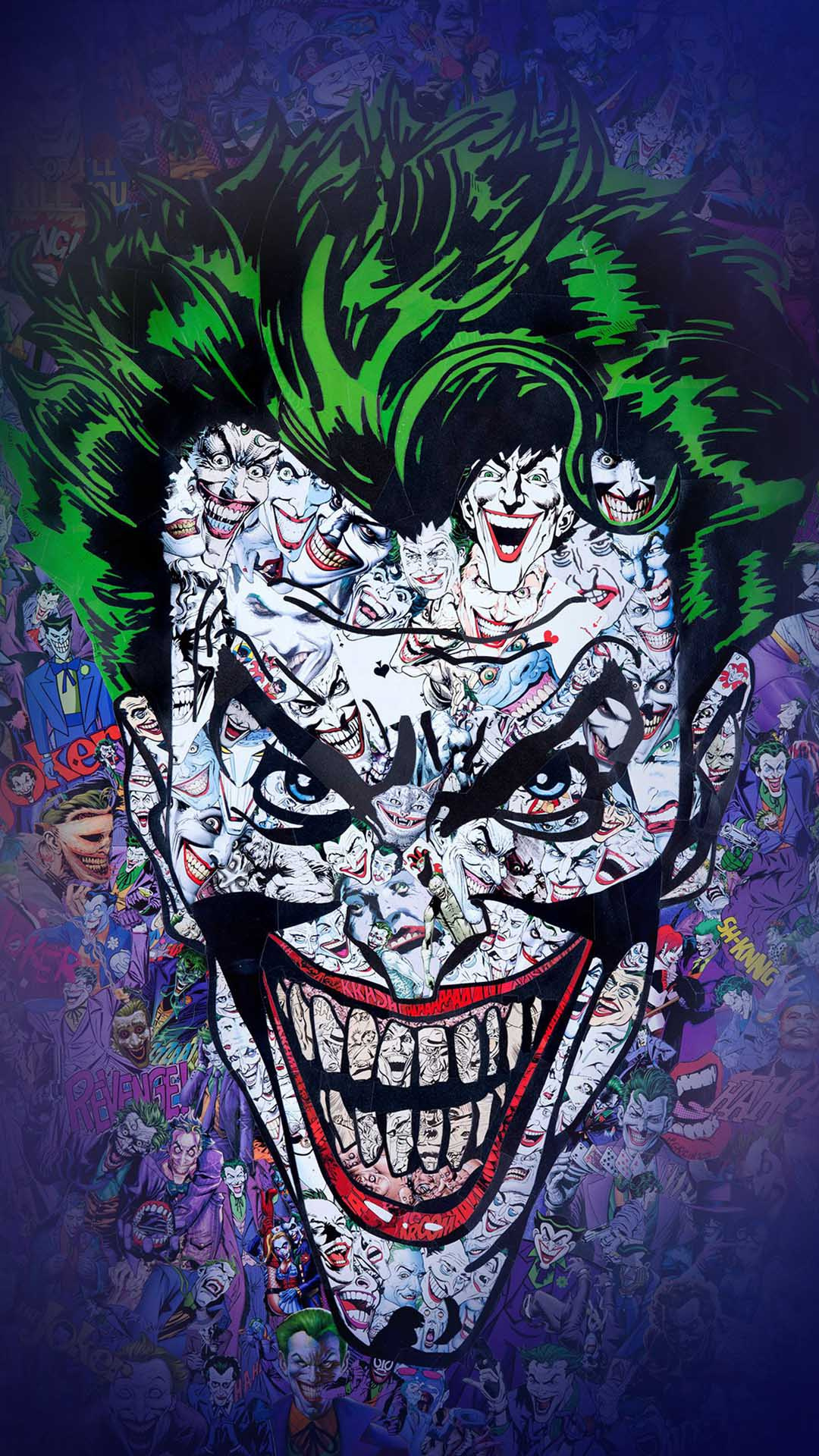 iPhone wallpaper joker comics Joker