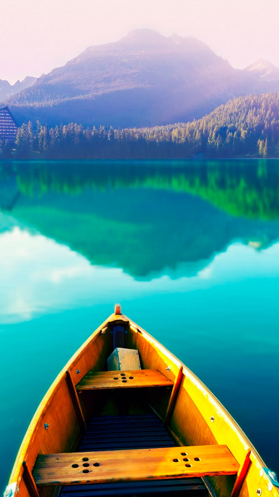 iPhone wallpaper lake mountains Lake