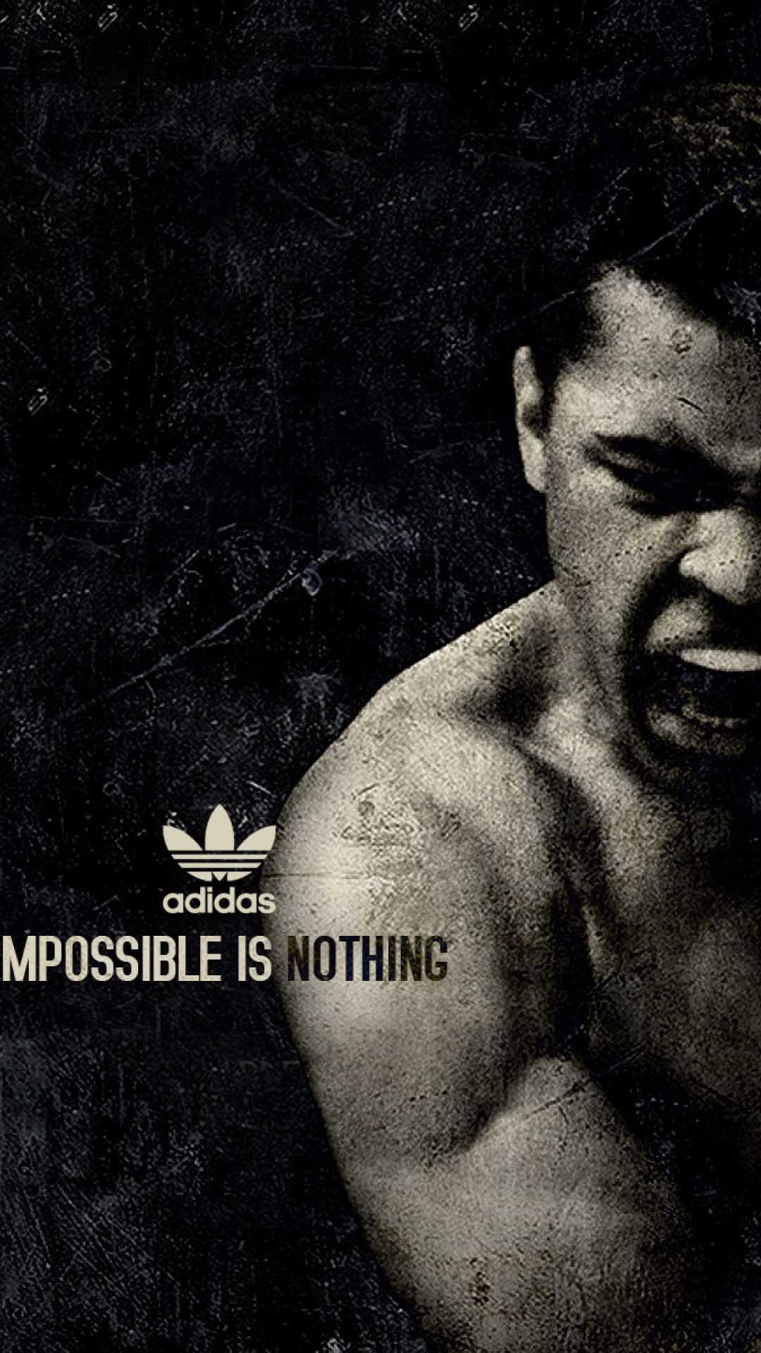 iPhone wallpaper muhammad ali adidas Muhammad Ali