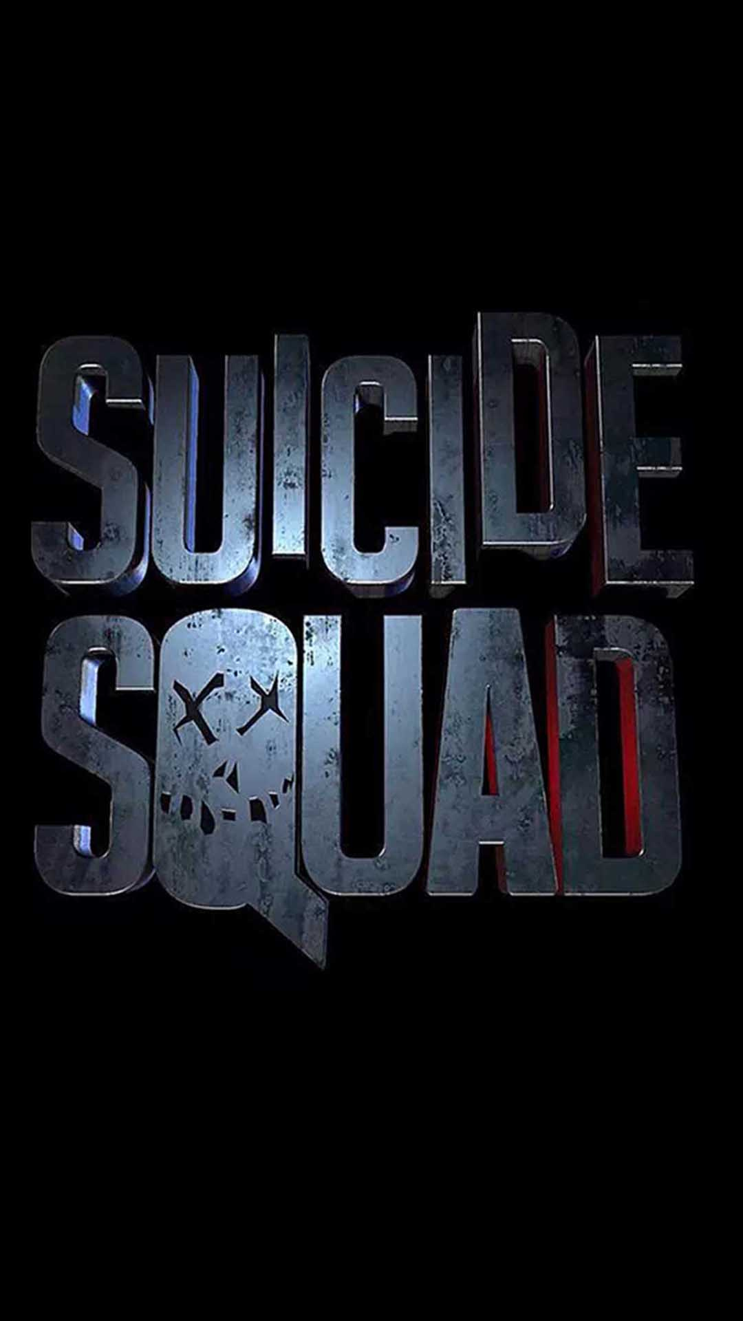 iPhone wallpaper suicide squad logo Suicide Squad