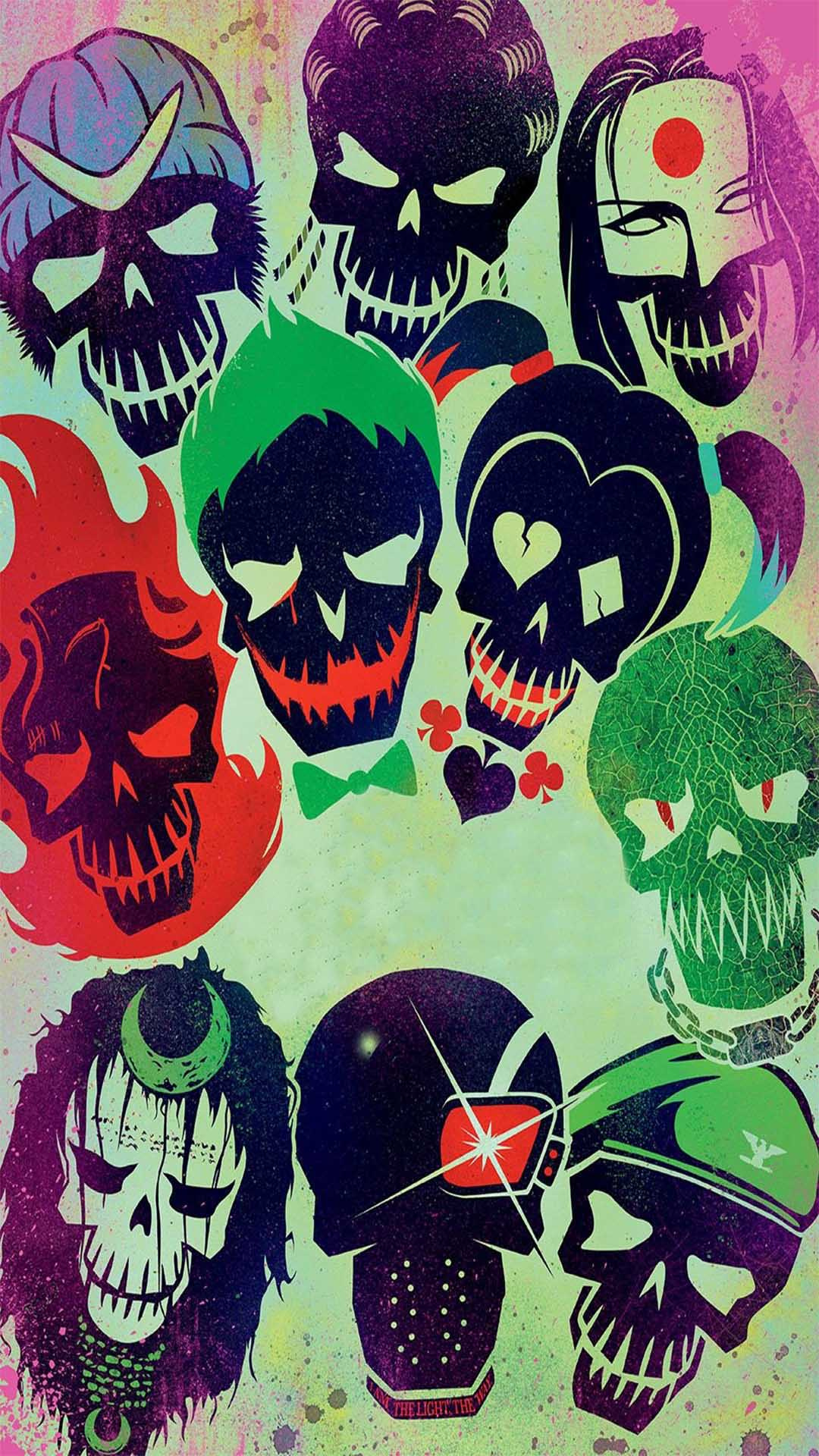 iPhone wallpaper suicide squad team 3Wallpapers : notre sélection de fonds d'écran du 16/04/2018