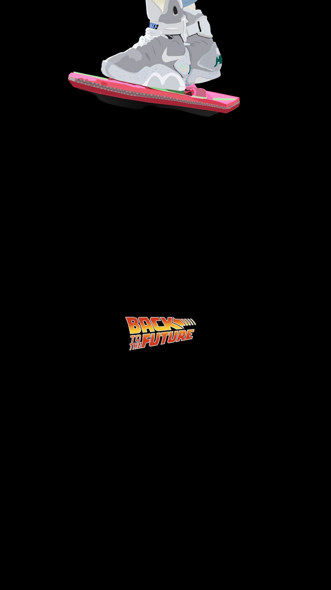 iPhone wallpaper back to the future hover board Back to the Future