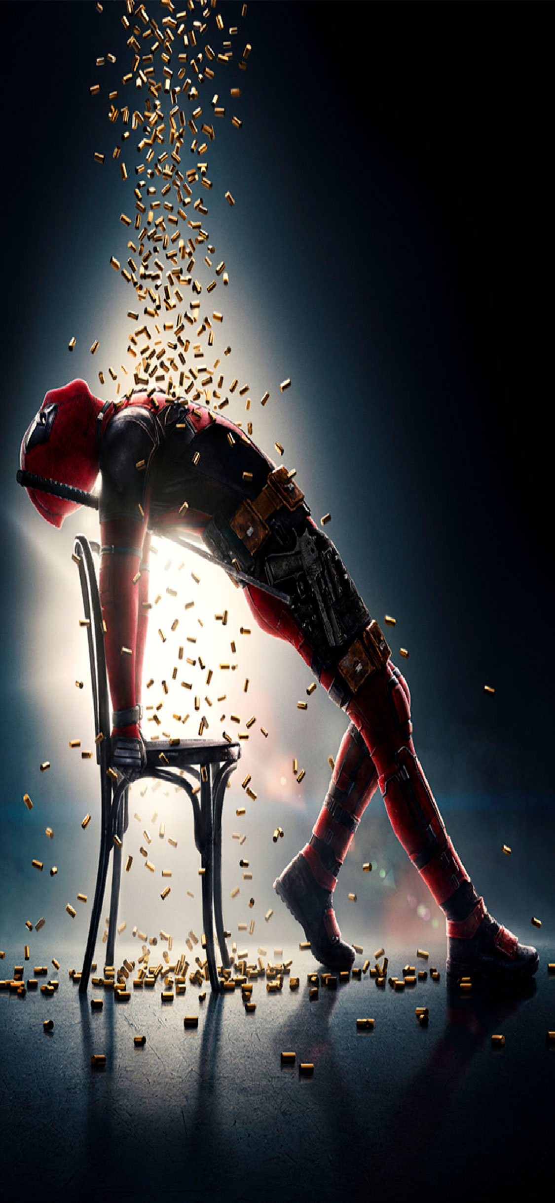iPhone wallpaper deadpool bullets Deadpool
