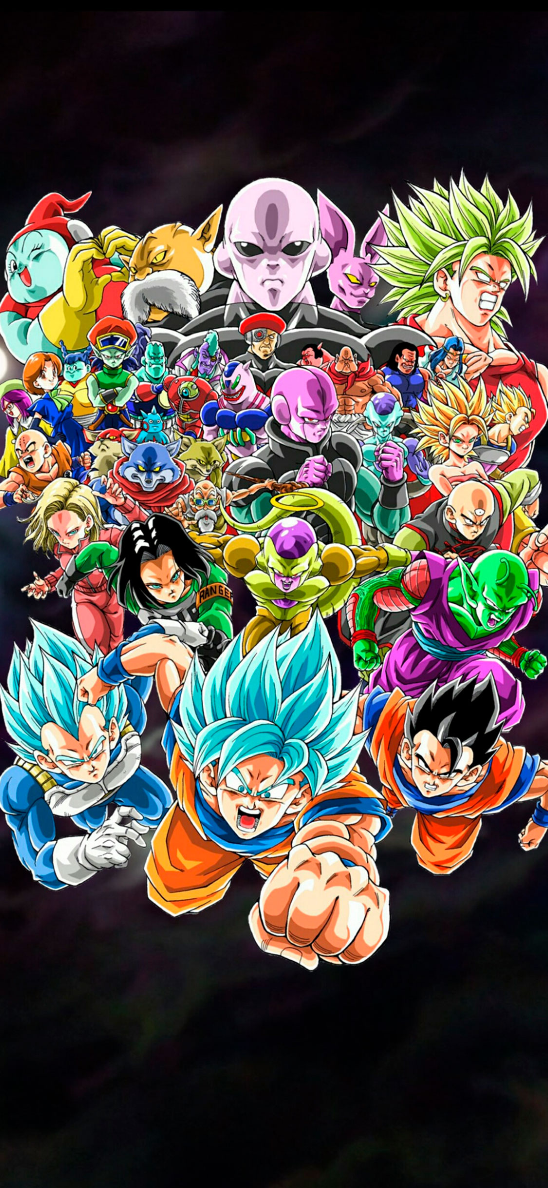 iPhone wallpaper dragon ball characters Fonds d'écran iPhone du 11/05/2018