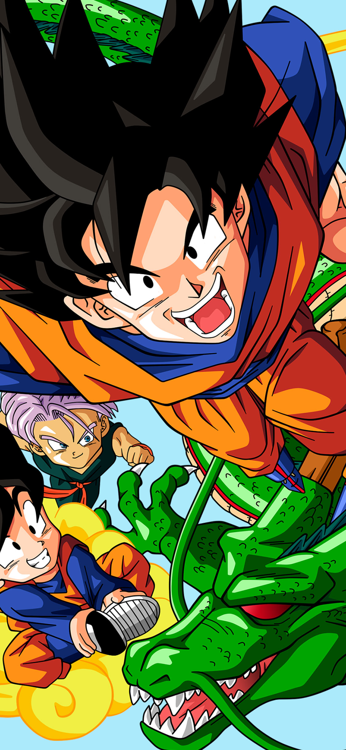 iPhone wallpaper dragon ball shenglong Dragon Ball