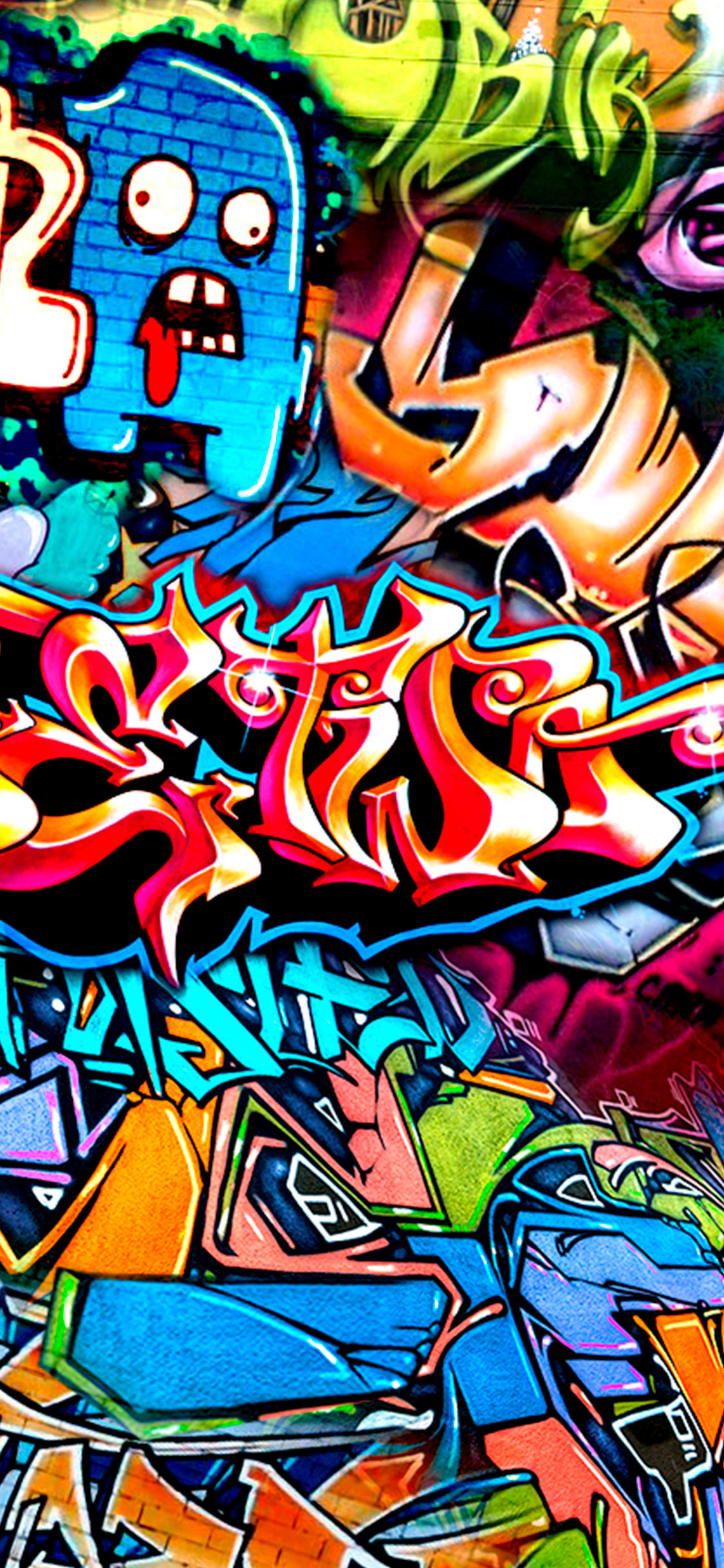iPhone wallpaper graffiti wall Fonds d'écran iPhone du 16/05/2018
