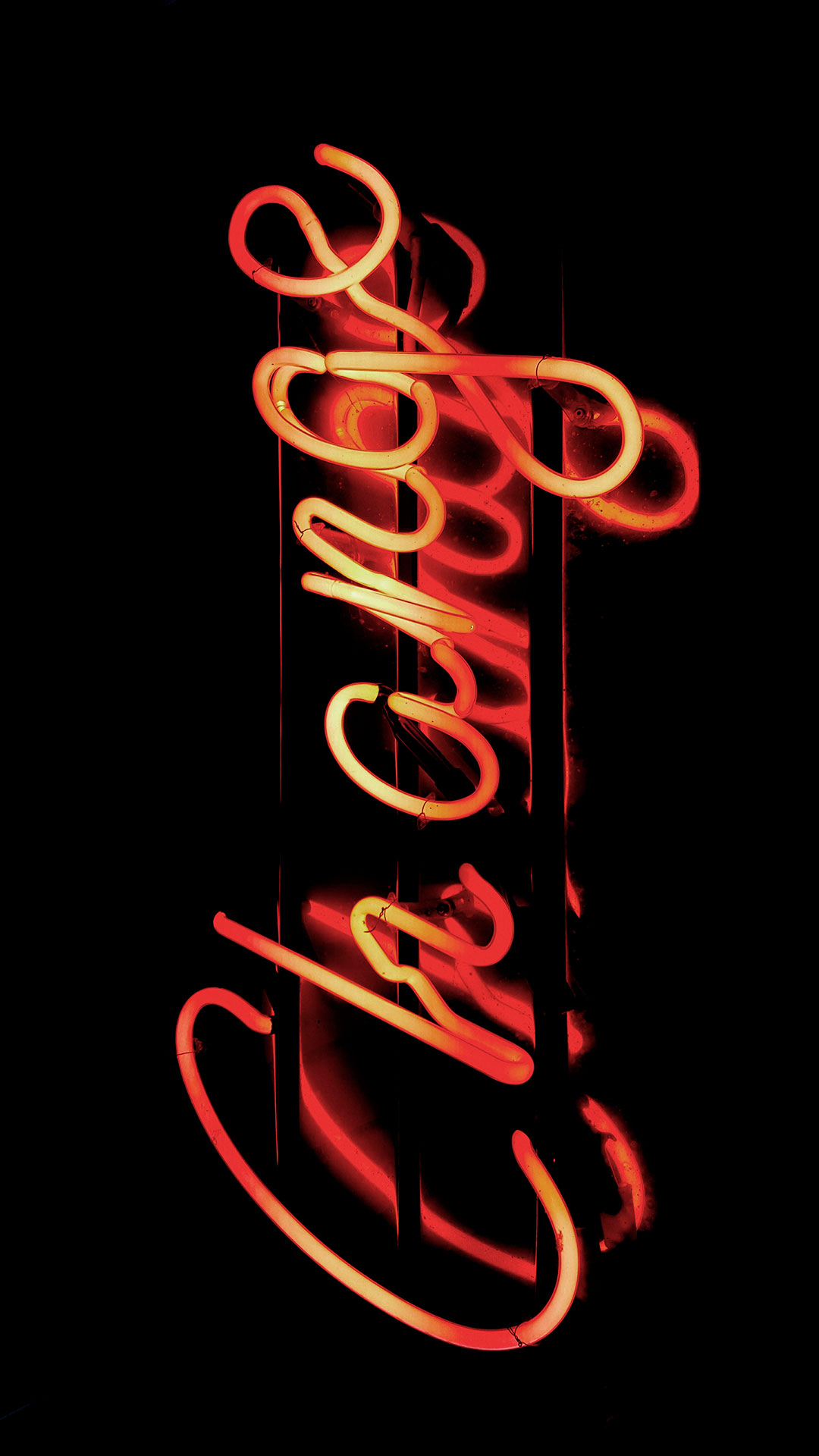 iPhone wallpaper neon sign change Fonds d'écran iPhone du 09/05/2018