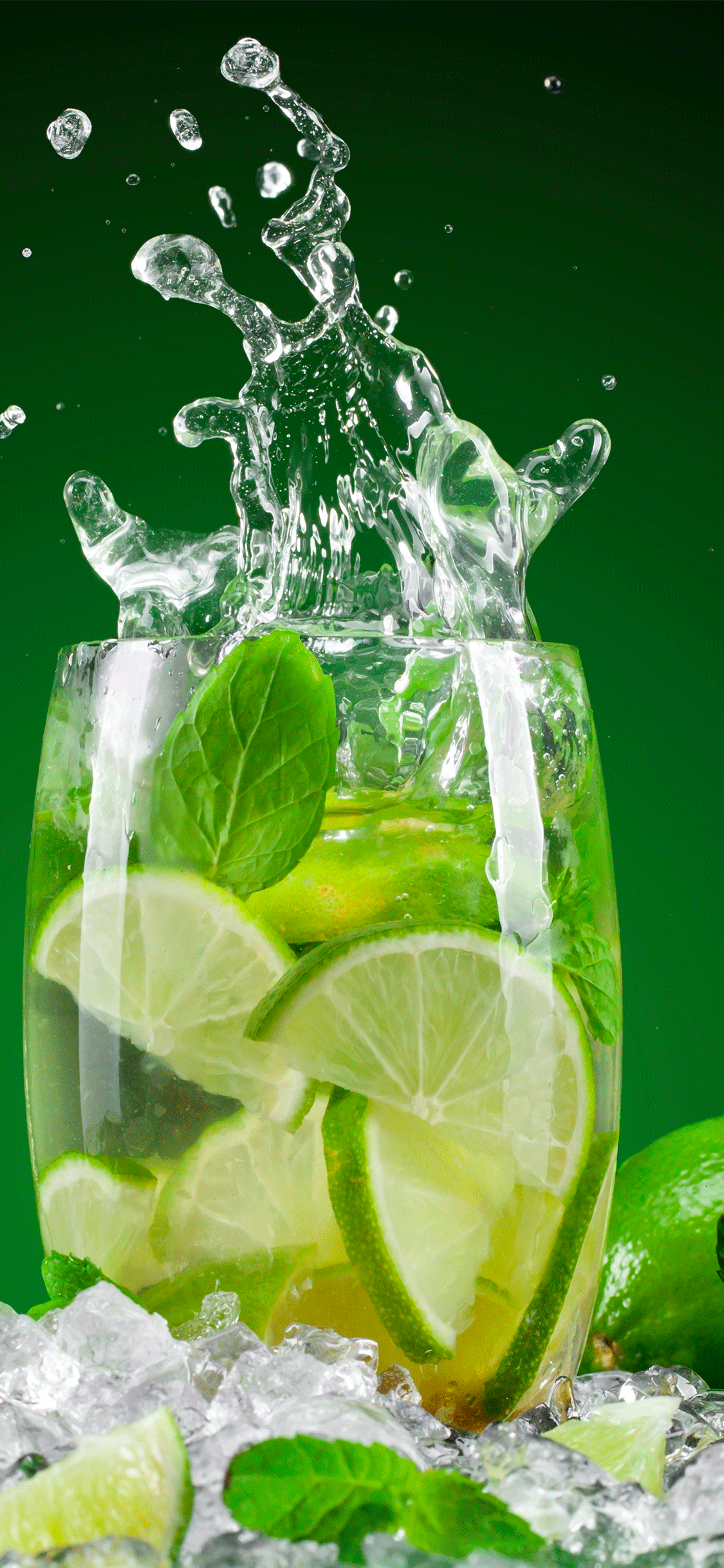 iPhone wallpaper cocktail lime Fonds d'écran iPhone du 27/06/2018