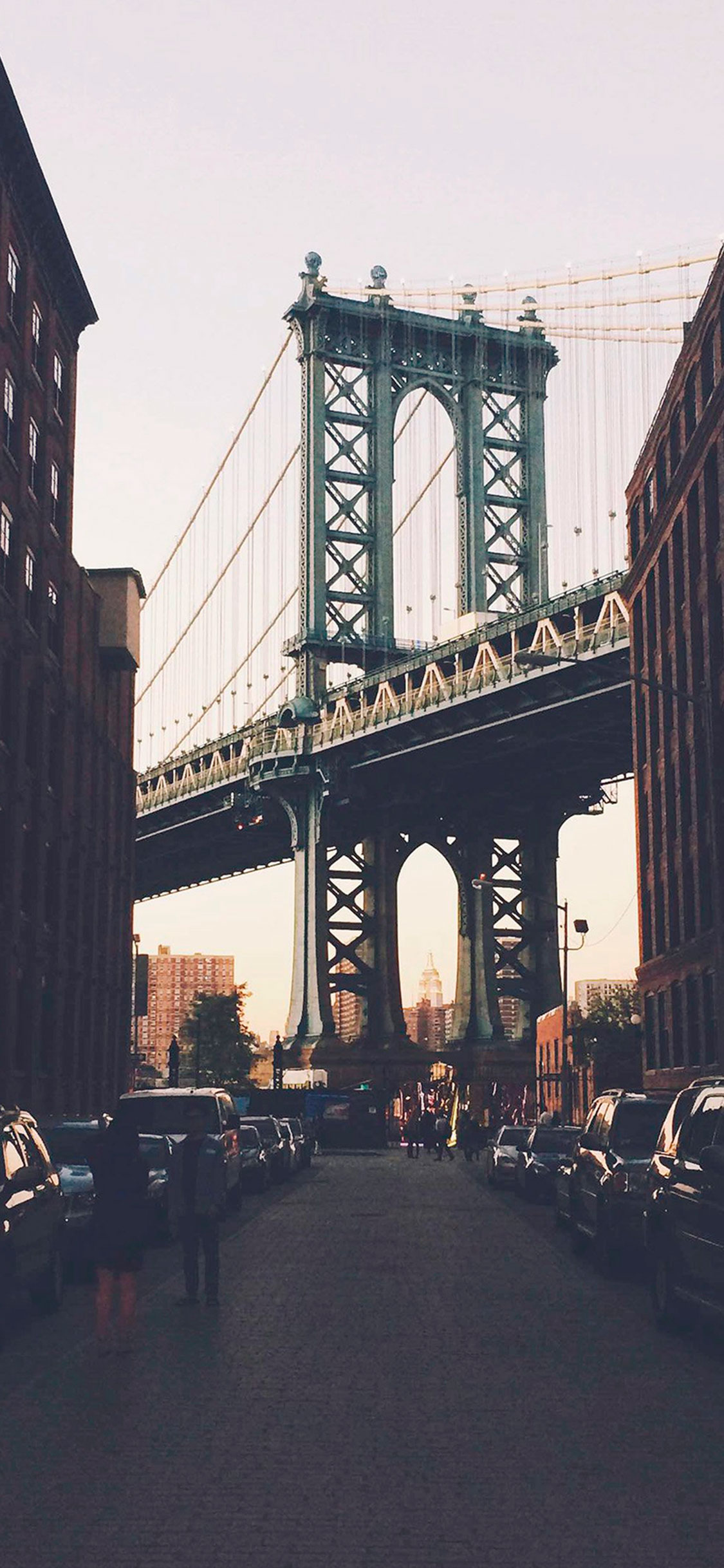 iPhone wallpaper new york bridge Fonds d'écran iPhone du 04/06/2018