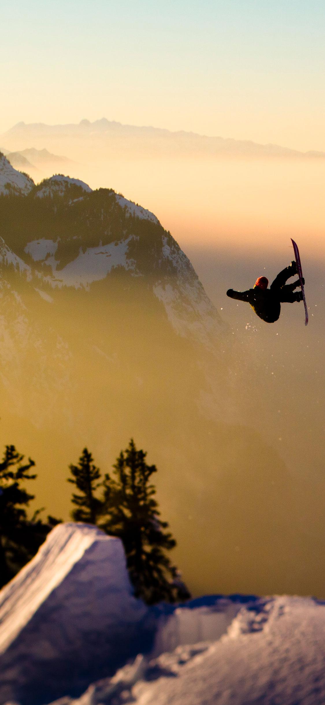 iPhone wallpaper snowboard1 Snowboard