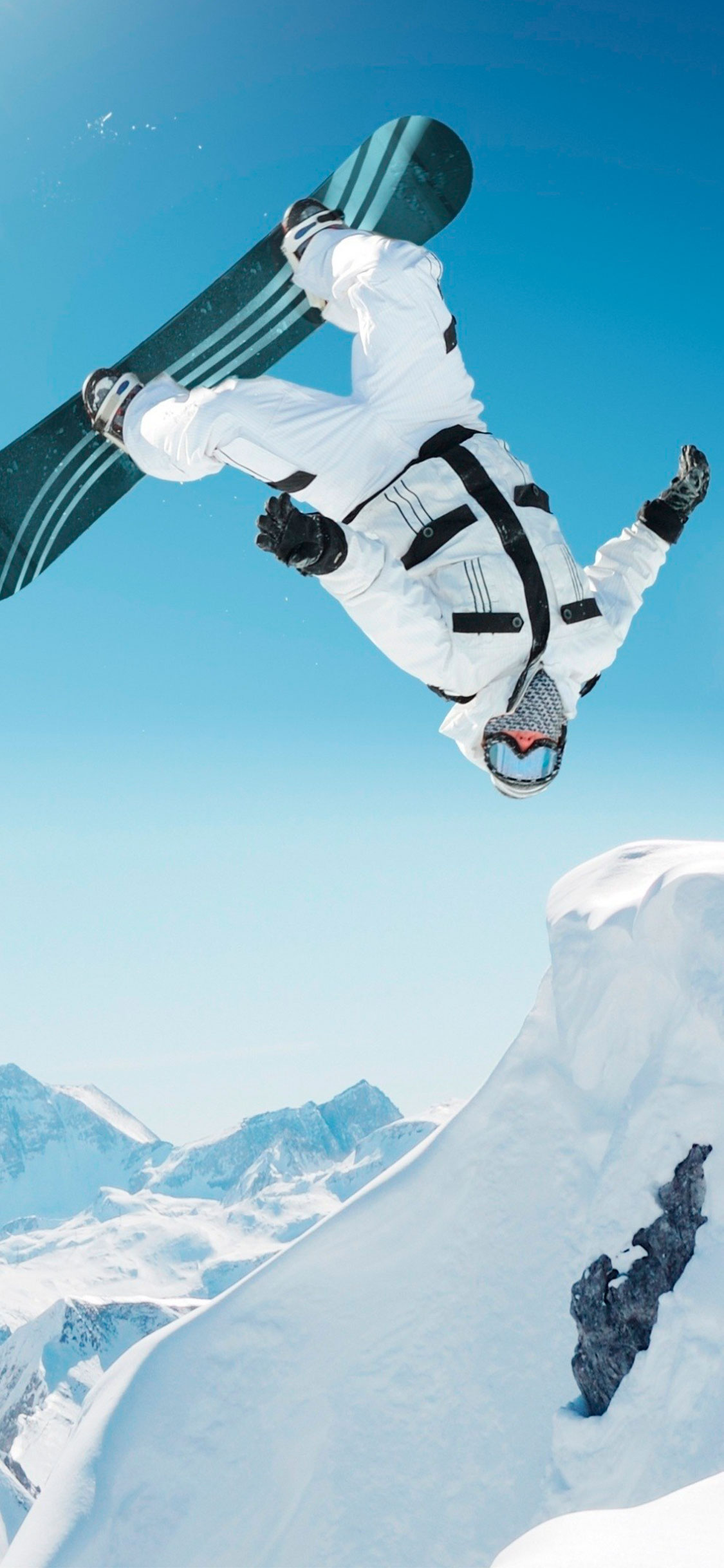 iPhone wallpaper snowboard3 Fonds d'écran iPhone du 14/06/2018