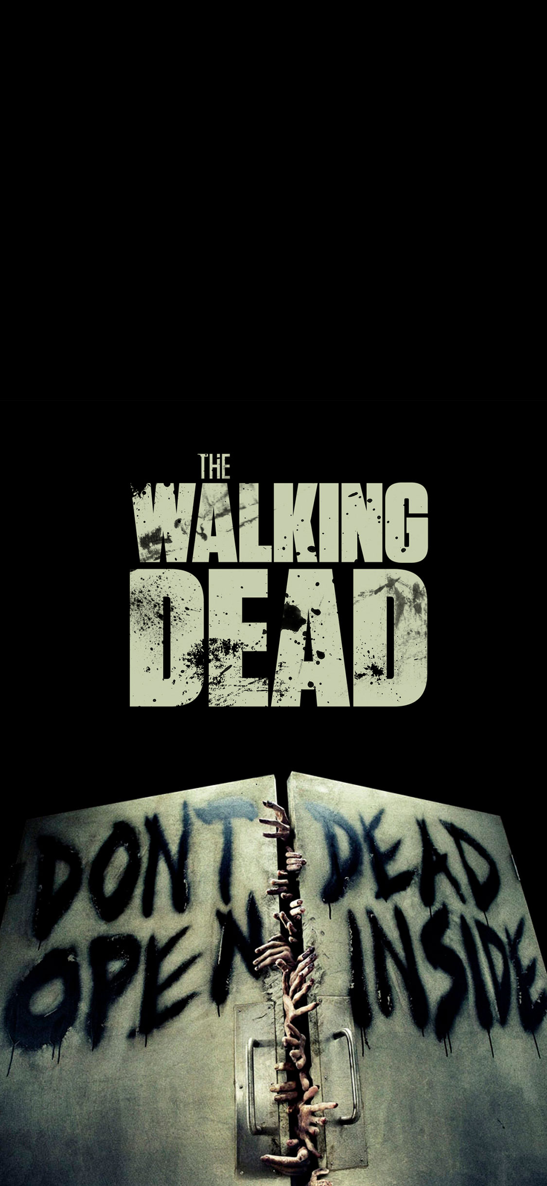 the walking dead wallpaper for iphone x, 8, 7, 6 - free download on