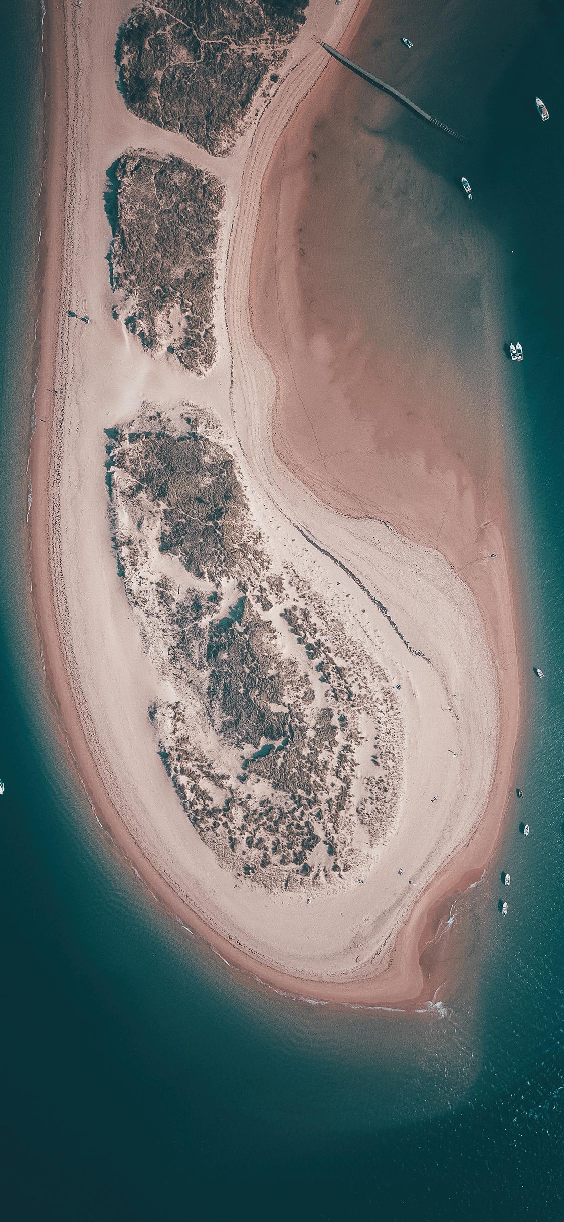 iPhone wallpaper aerial photos sea Fonds d'écran iPhone du 26/07/2018