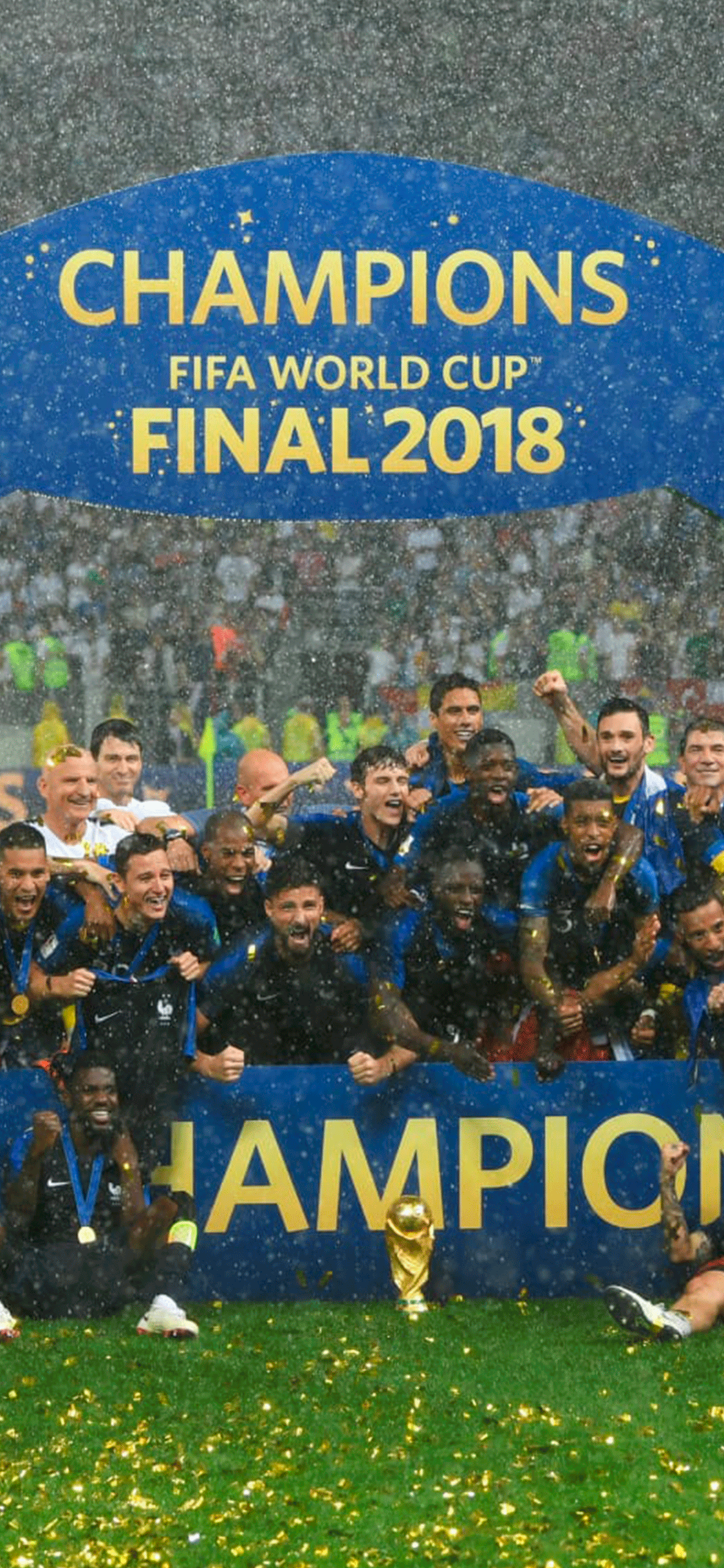 iPhone wallpaper fifa world cup 2018 france2 Fonds d'écran iPhone du 17/07/2018