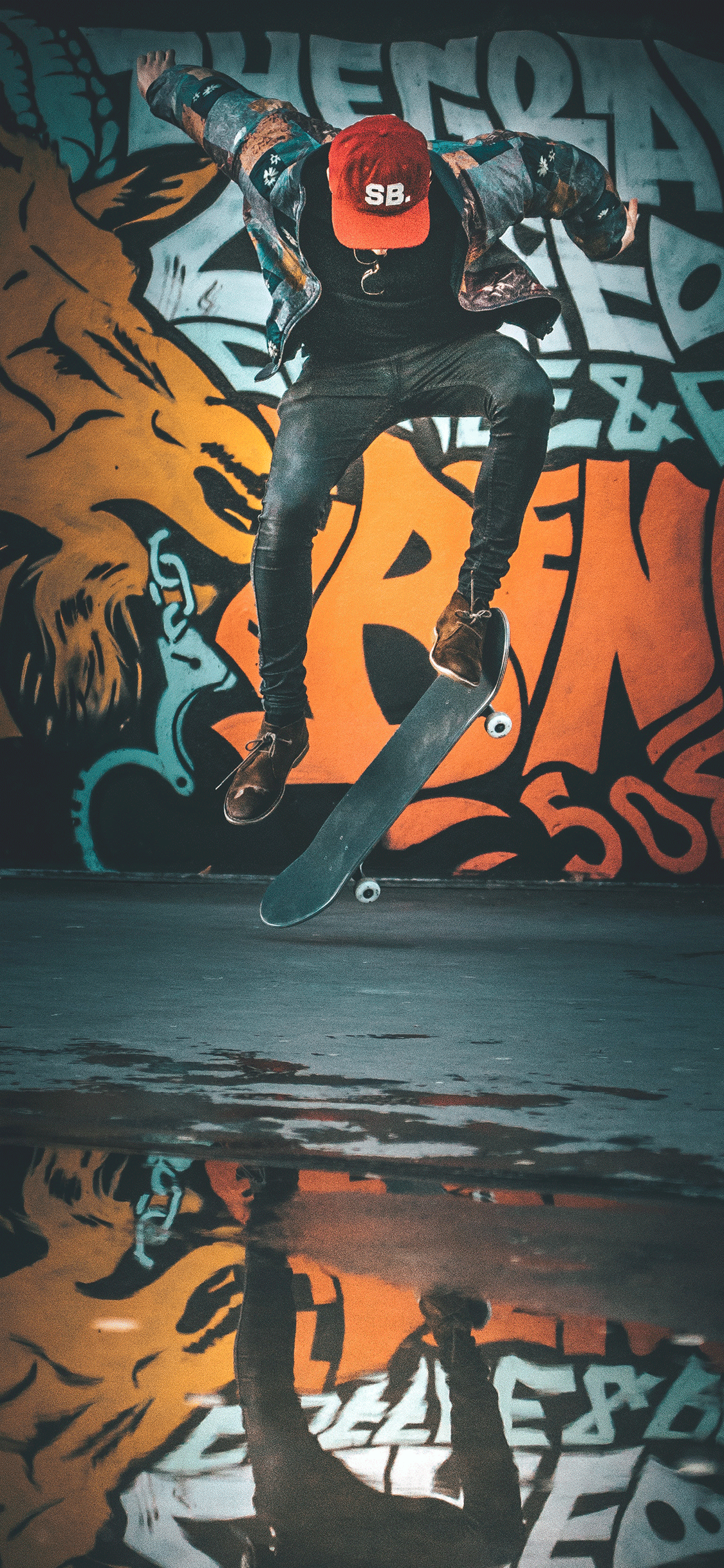 iPhone wallpaper graffiti skater Fonds d'écran iPhone du 25/07/2018